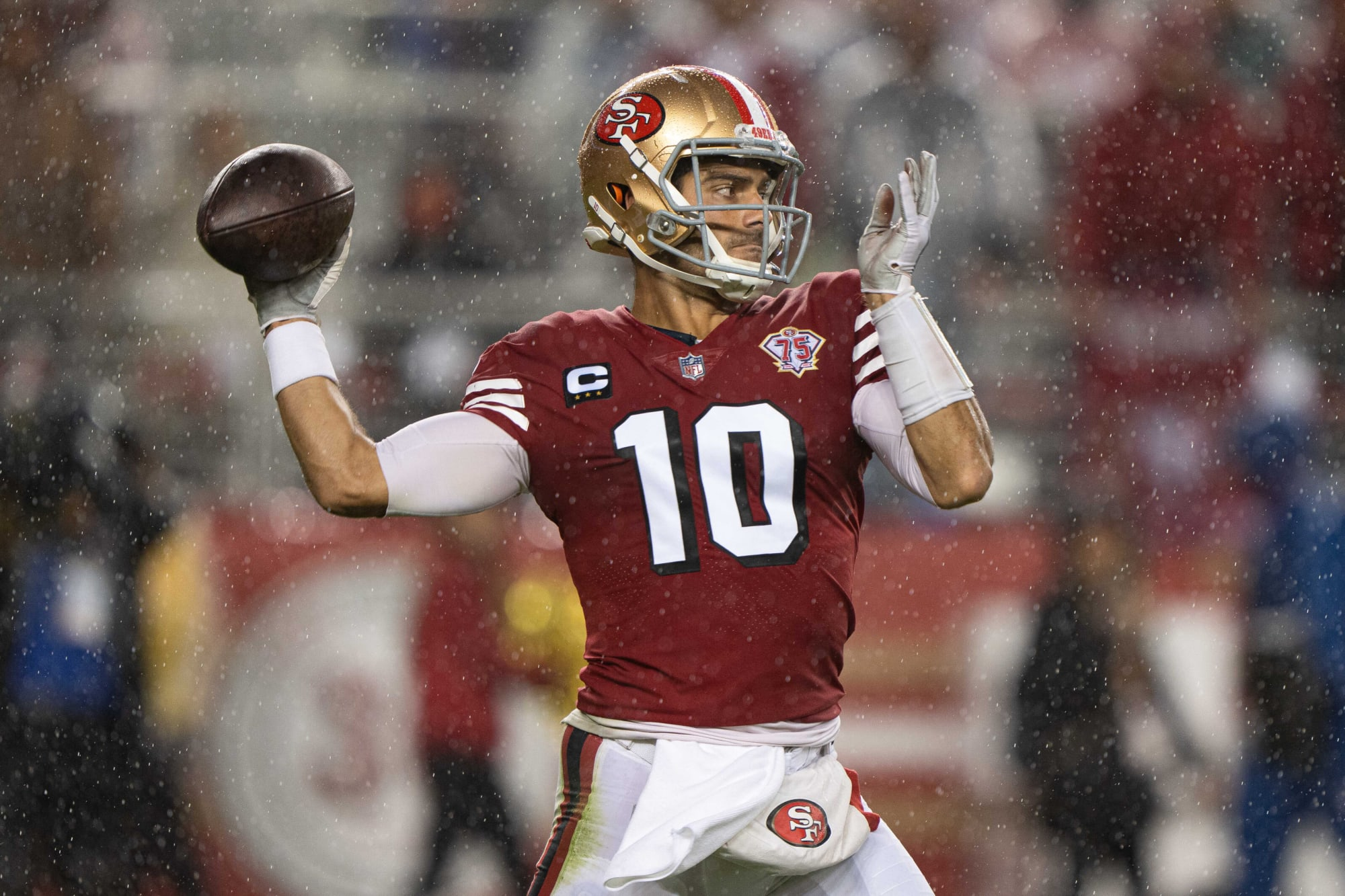 Kyle Shanahan is sticking with Jimmy Garoppolo as 49ers starting quarterback