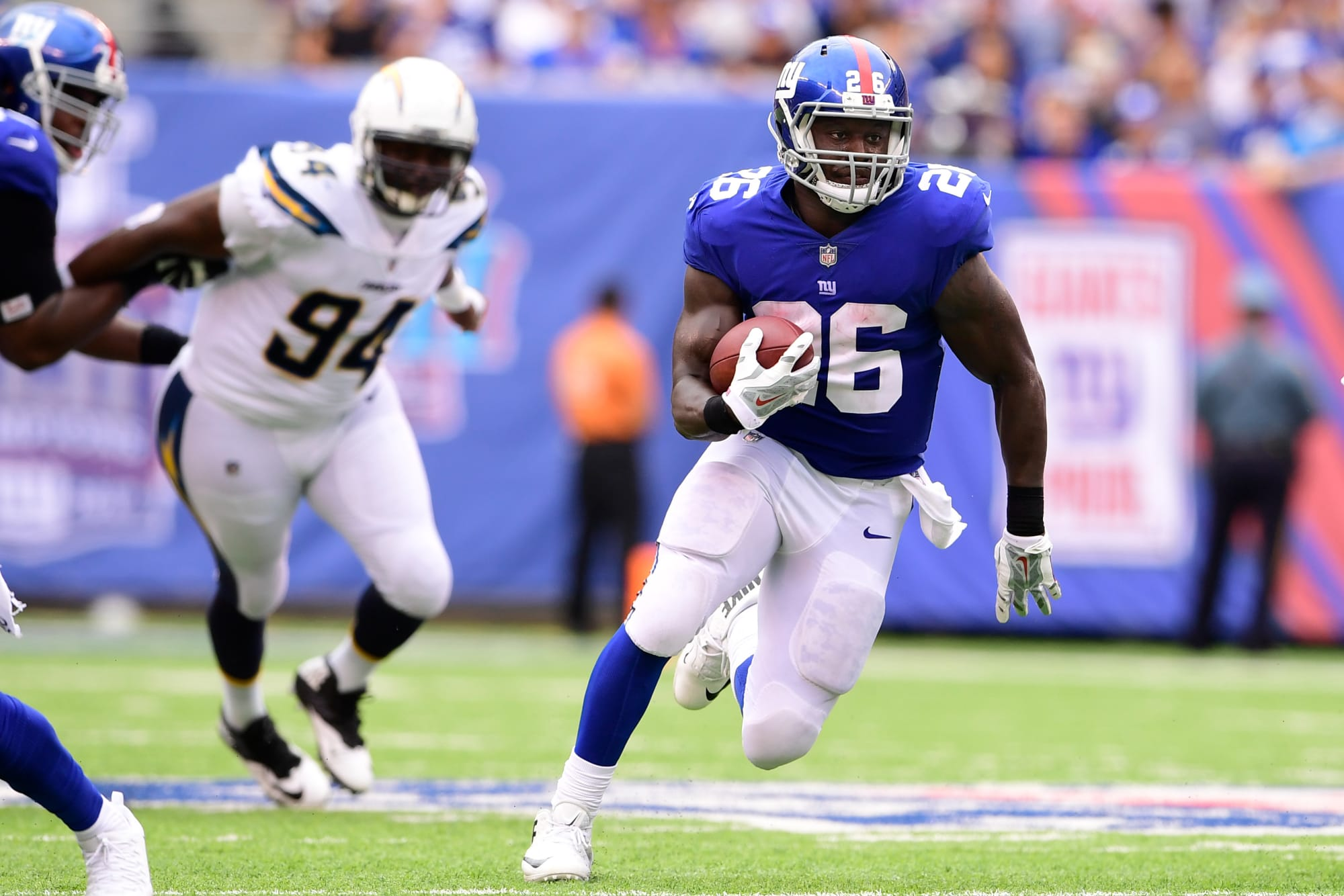 New York Giants: Whatever happened to Orleans Darkwa?