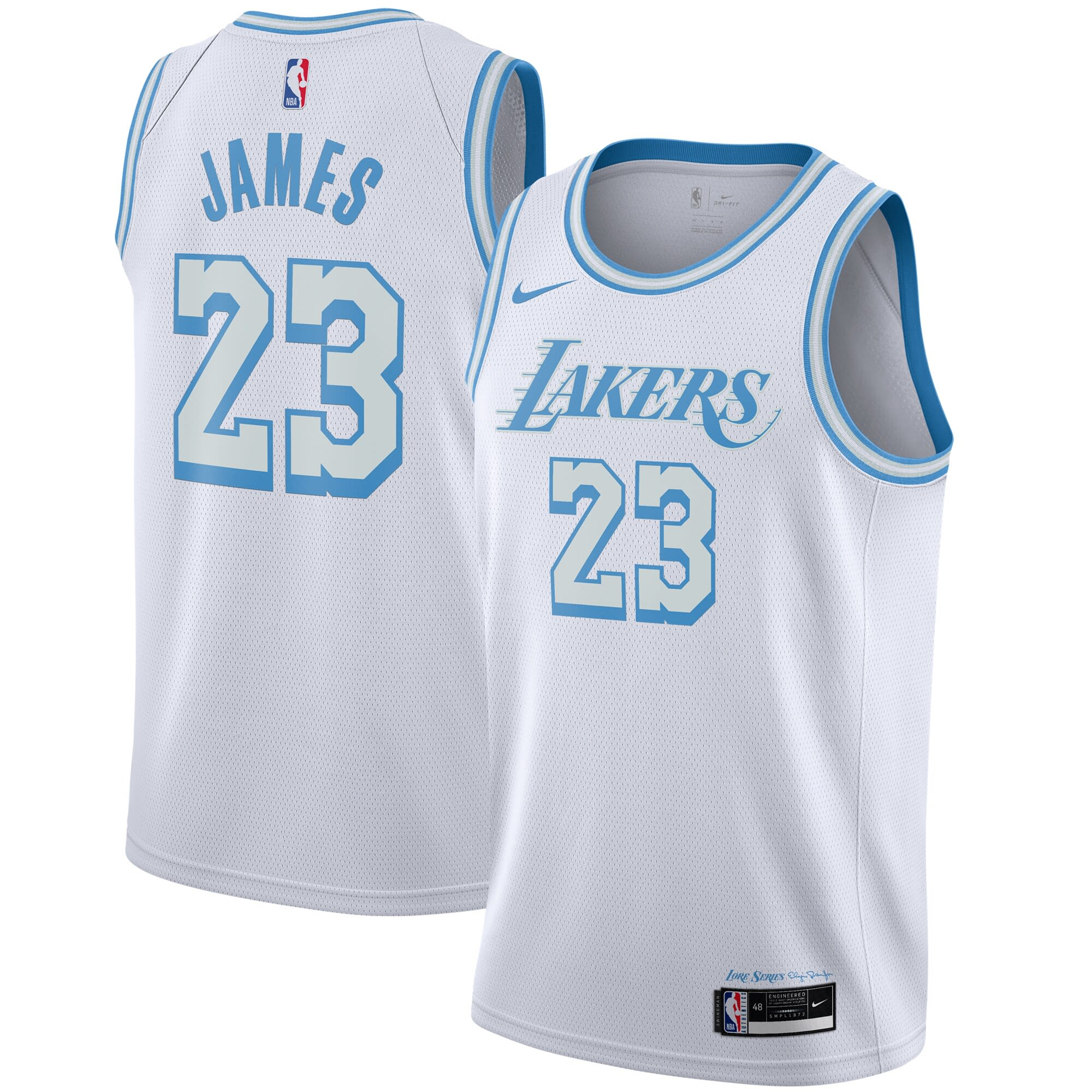 Order the amazing Los Angeles Lakers Nike City Edition jersey now
