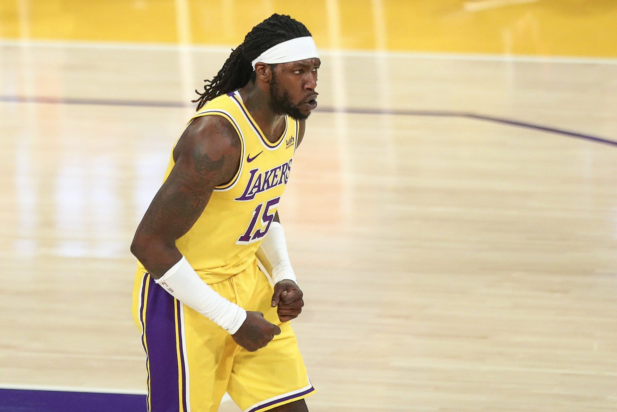 Los Angeles Lakers: Montrezl Harrell is stepping up for the team