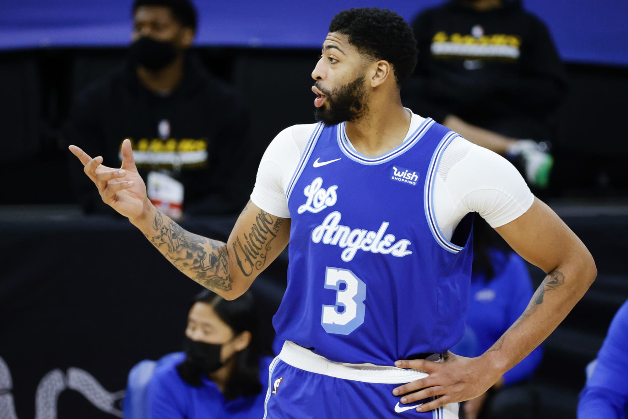 Lakers: Anthony Davis should not be voted into All-Star Game ...