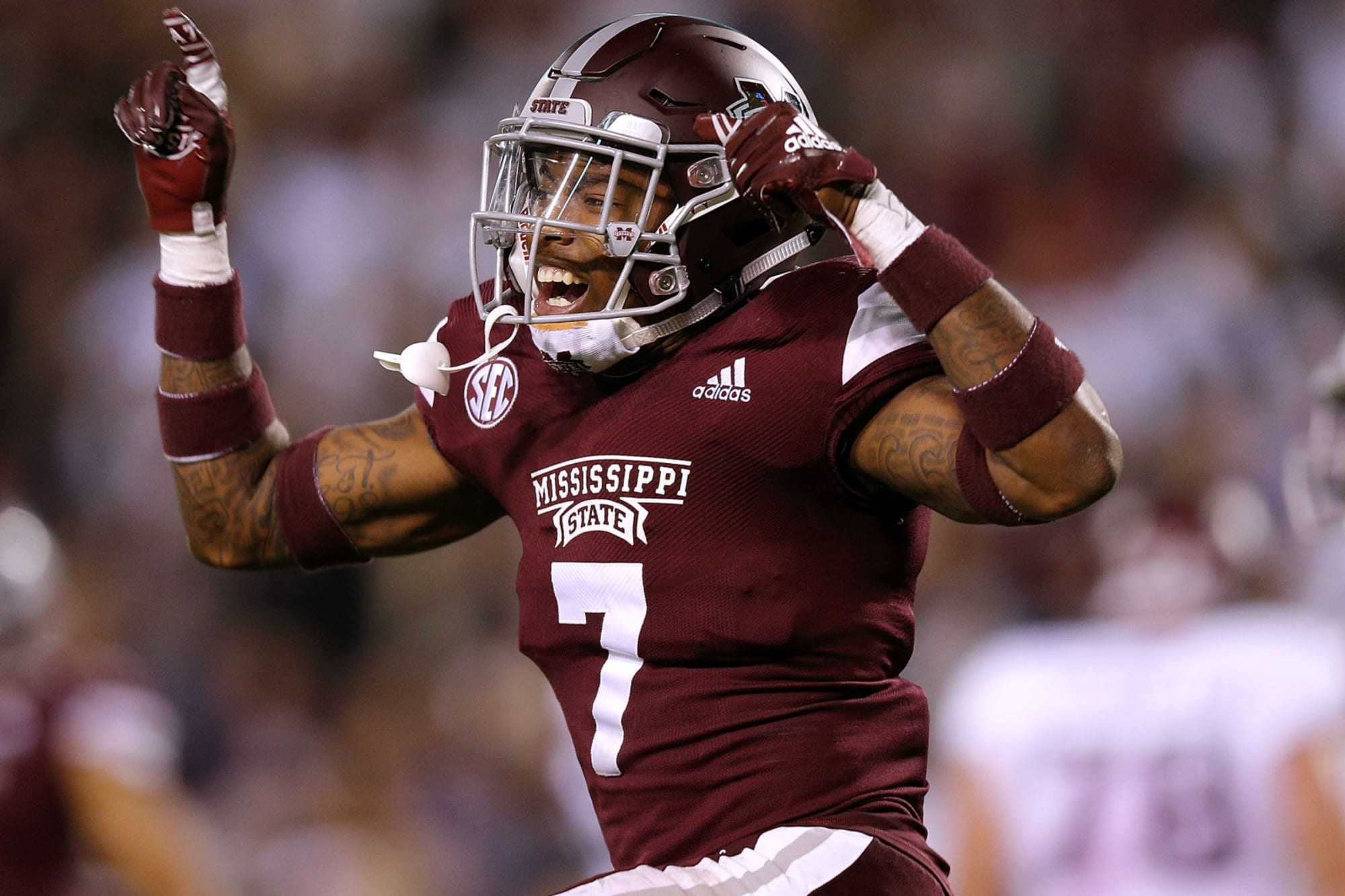 Marcus Murphy of Mississippi State football needs assistance
