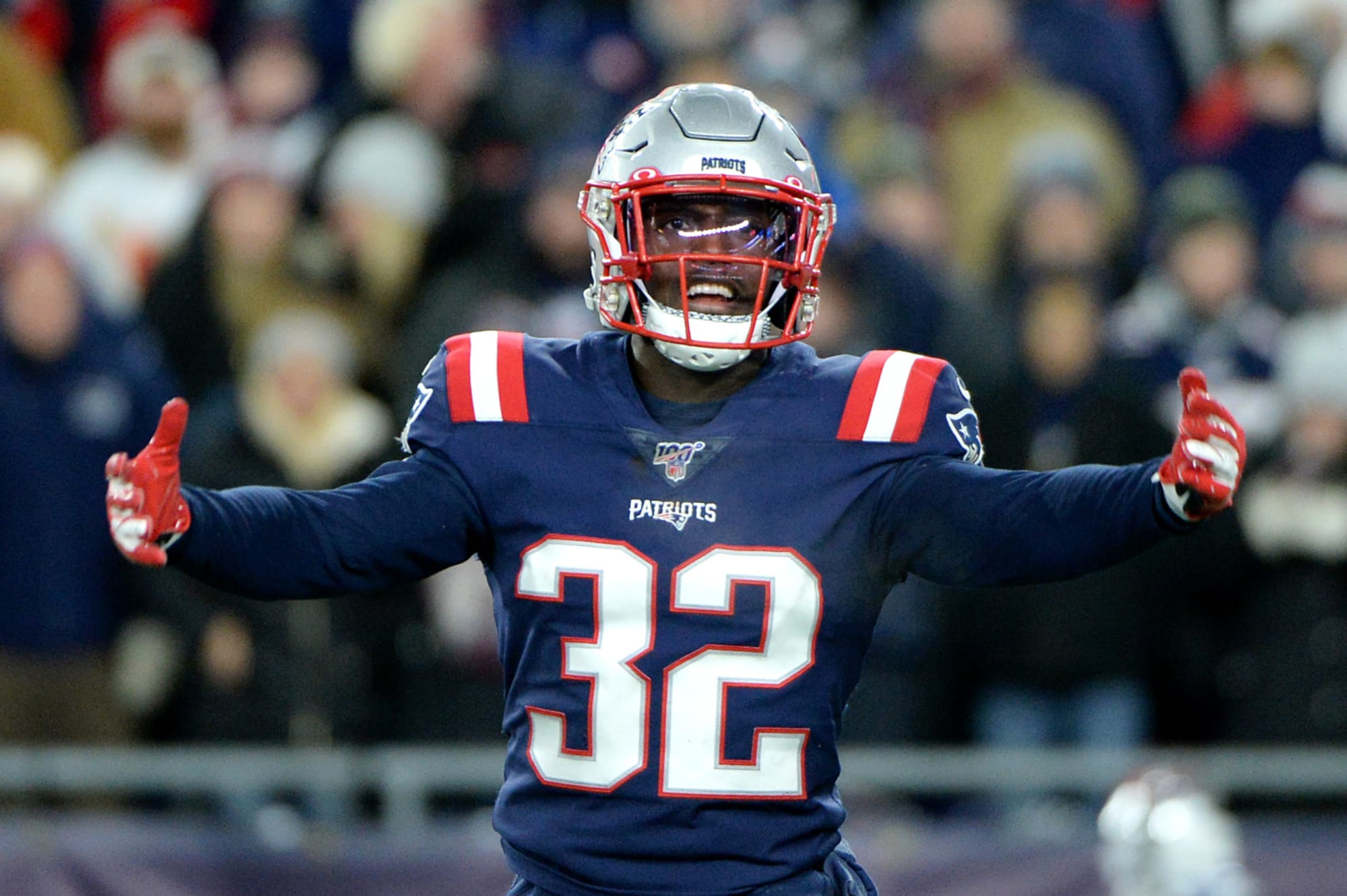 Patriots: Devin McCourty and teammates pay tribute to James White ...