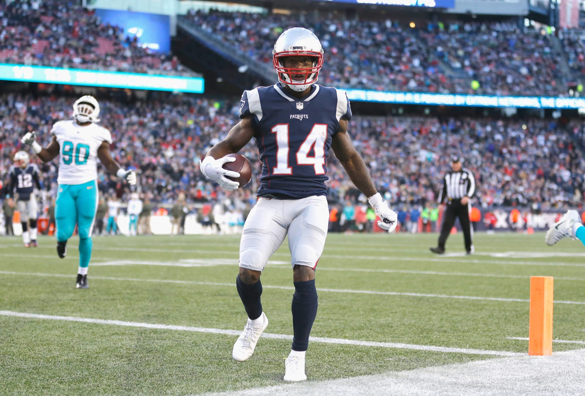 Brandin Cooks New England Patriots Game Jersey