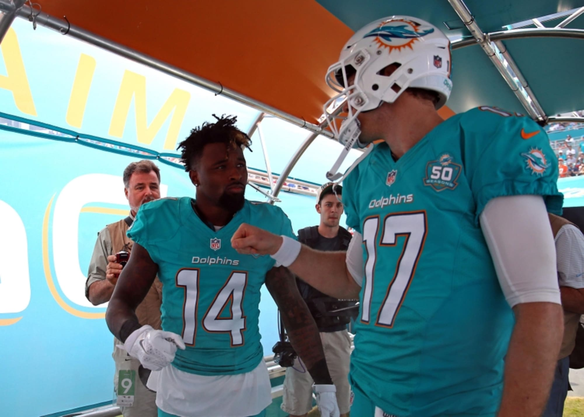 miami dolphins jarvis landry jersey