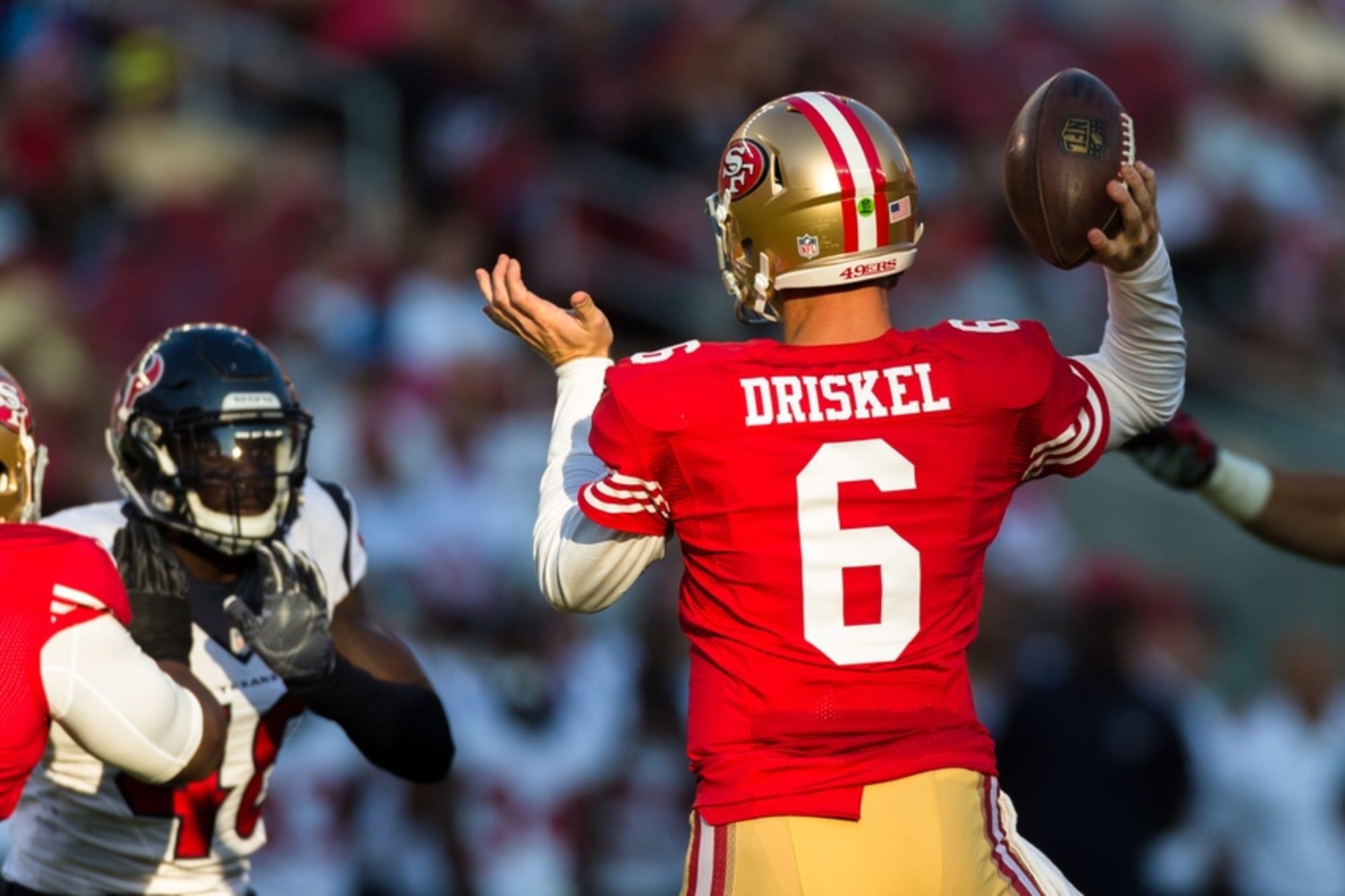 49ers vs. Broncos: Why Jeff Driskel Should Start for San Francisco