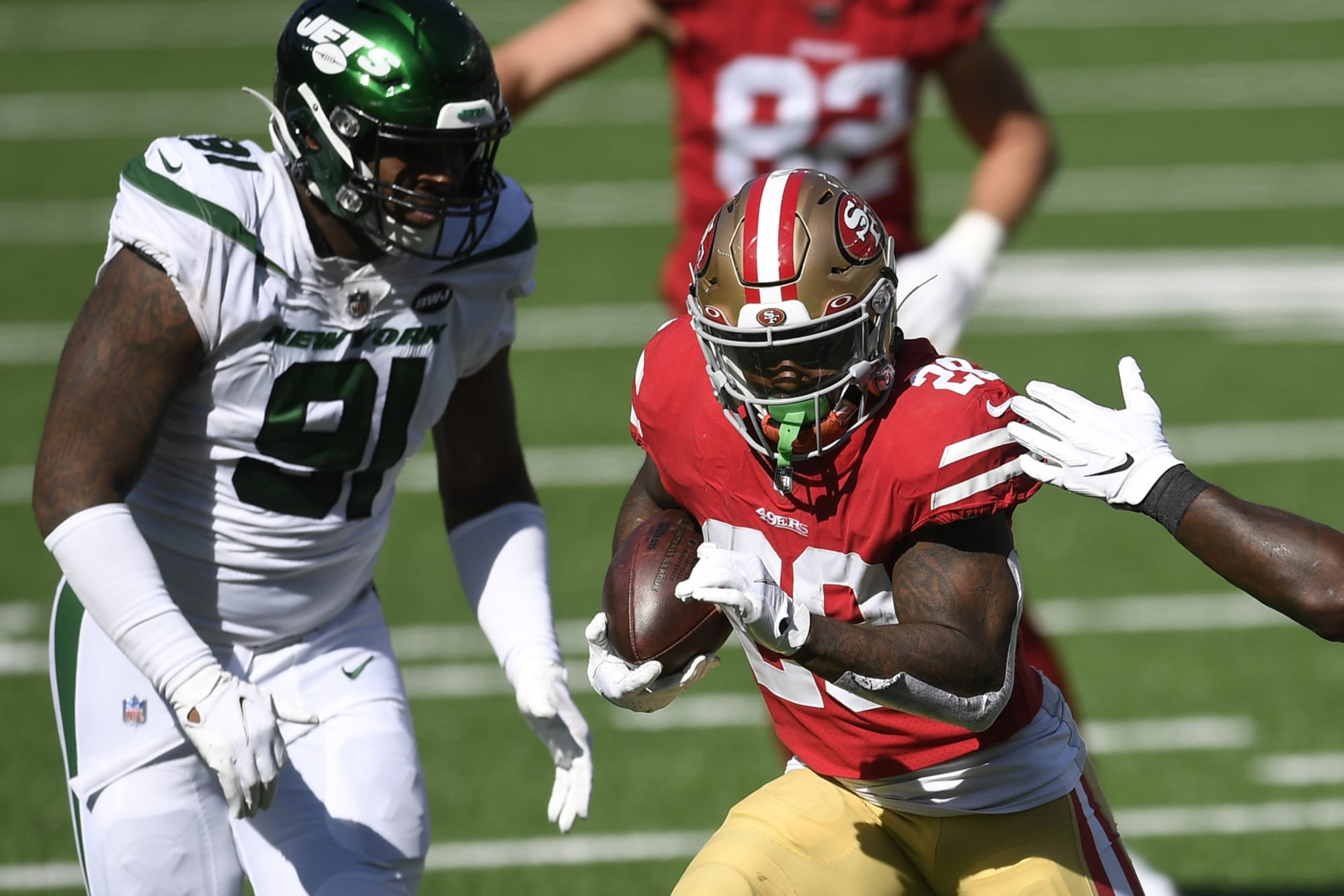 SF 49ers vs NY Giants: Why Jerick McKinnon will go off in Week 3