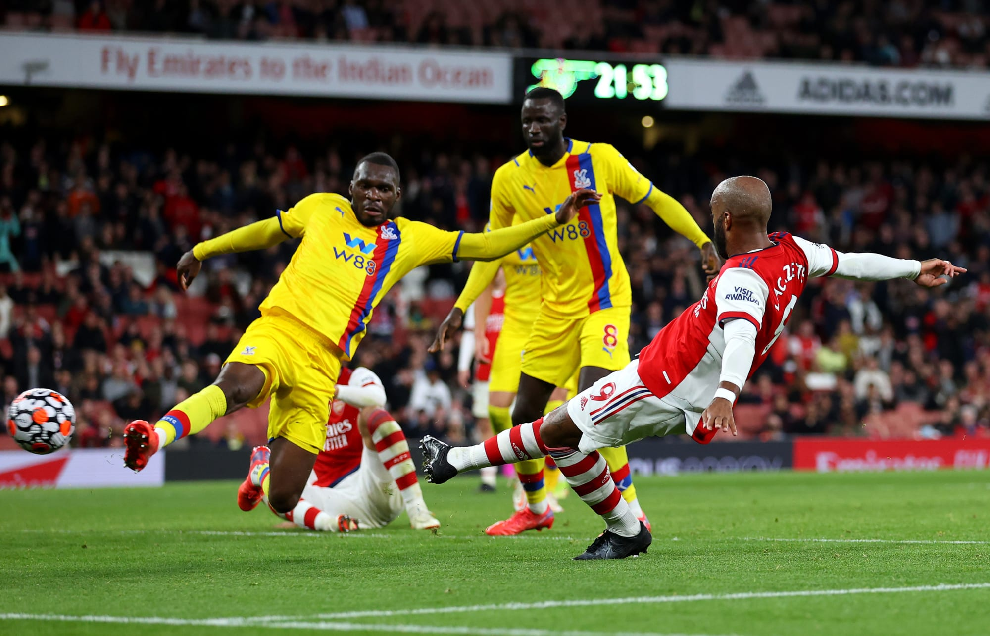 Arsenal player ratings vs Crystal Palace: Lacazette snatches 2-2 draw