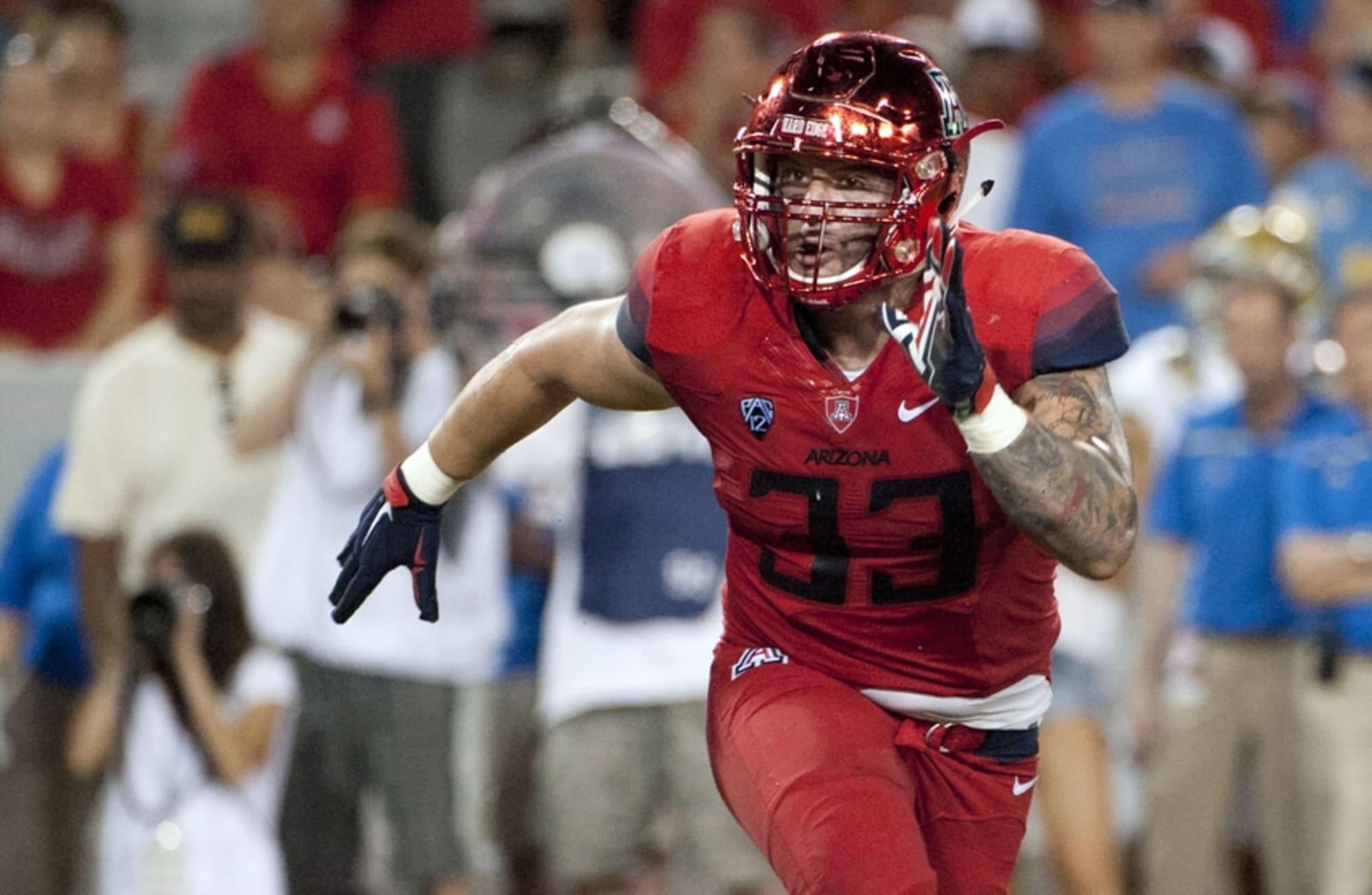 Scooby Wright, III Arizona Wildcats 2016 NFL Draft