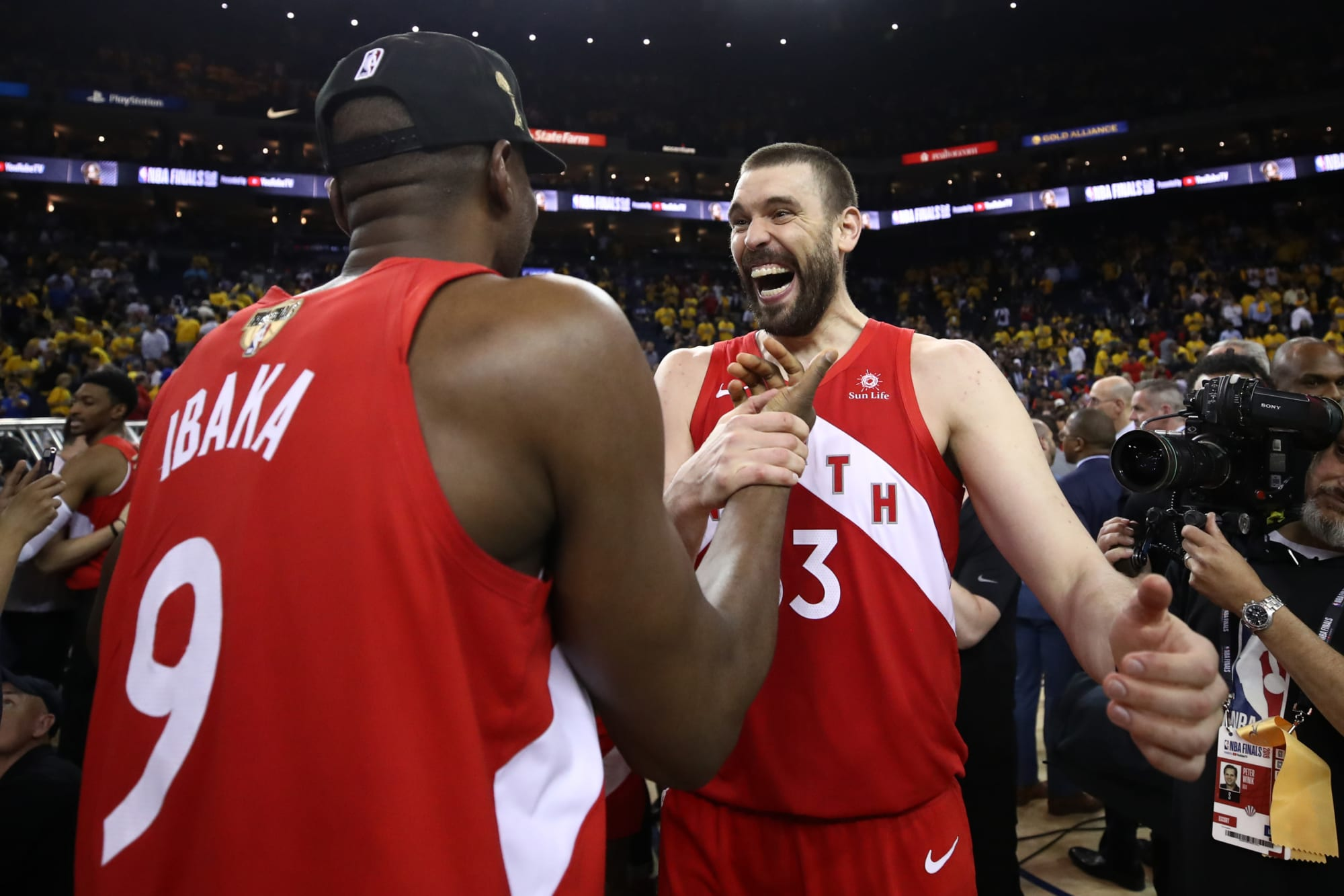 Raptors: How many wins would Marc Gasol and Serge Ibaka have added to this team?