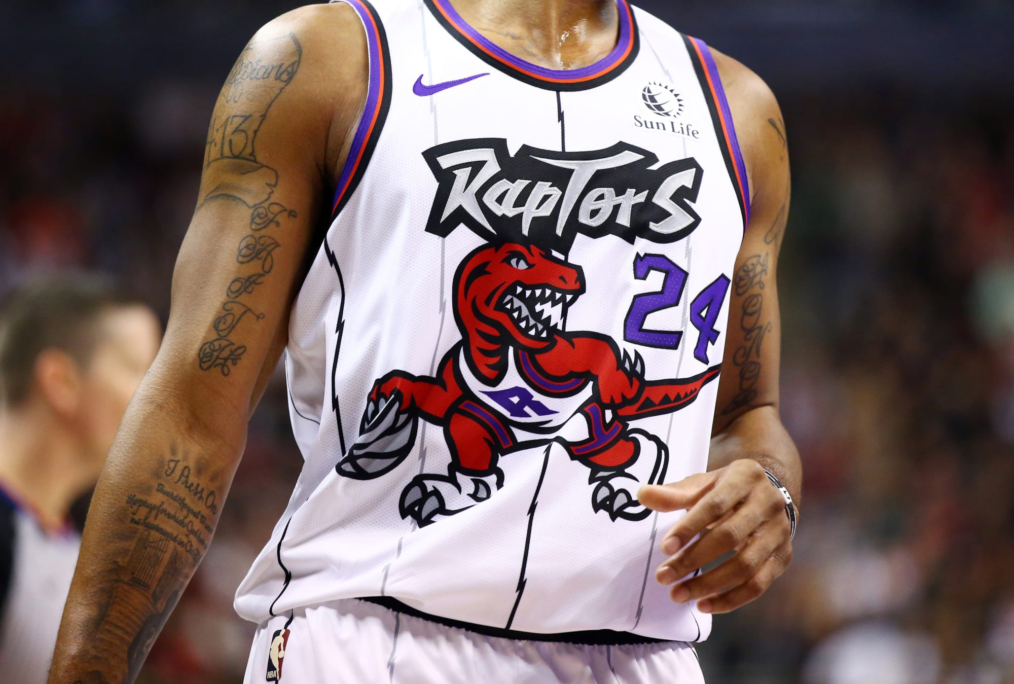 Ideas for the Toronto Raptors two remaining jerseys