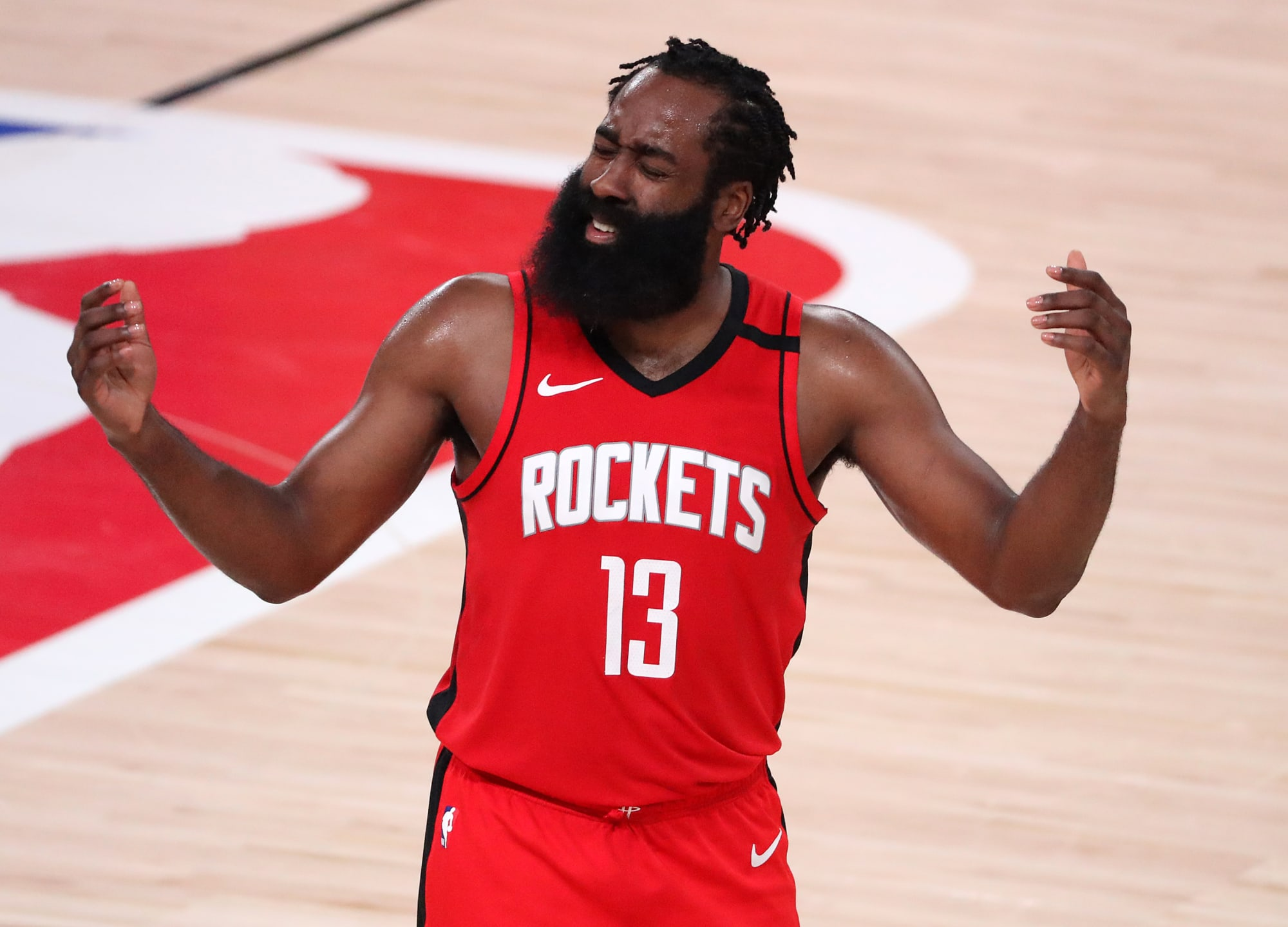 Are the Toronto Raptors a realistic destination for a disgruntled James Harden?