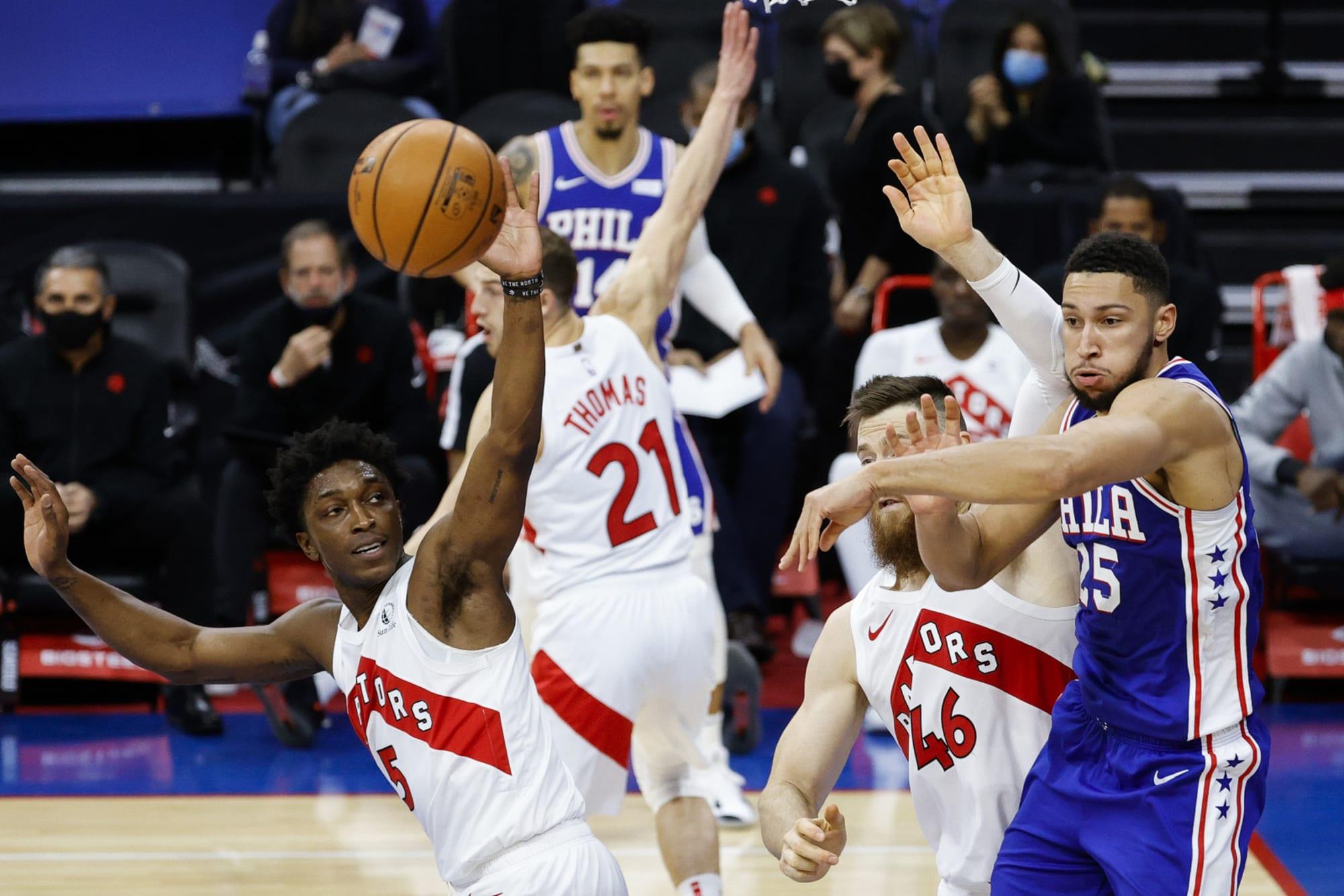 Raptors: 3 reasons Toronto could win head-to-head games vs. 76ers