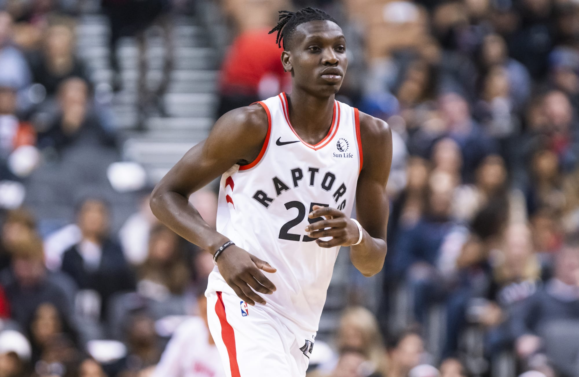 Toronto Raptors: Chris Boucher has the opportunity to be a key player this season