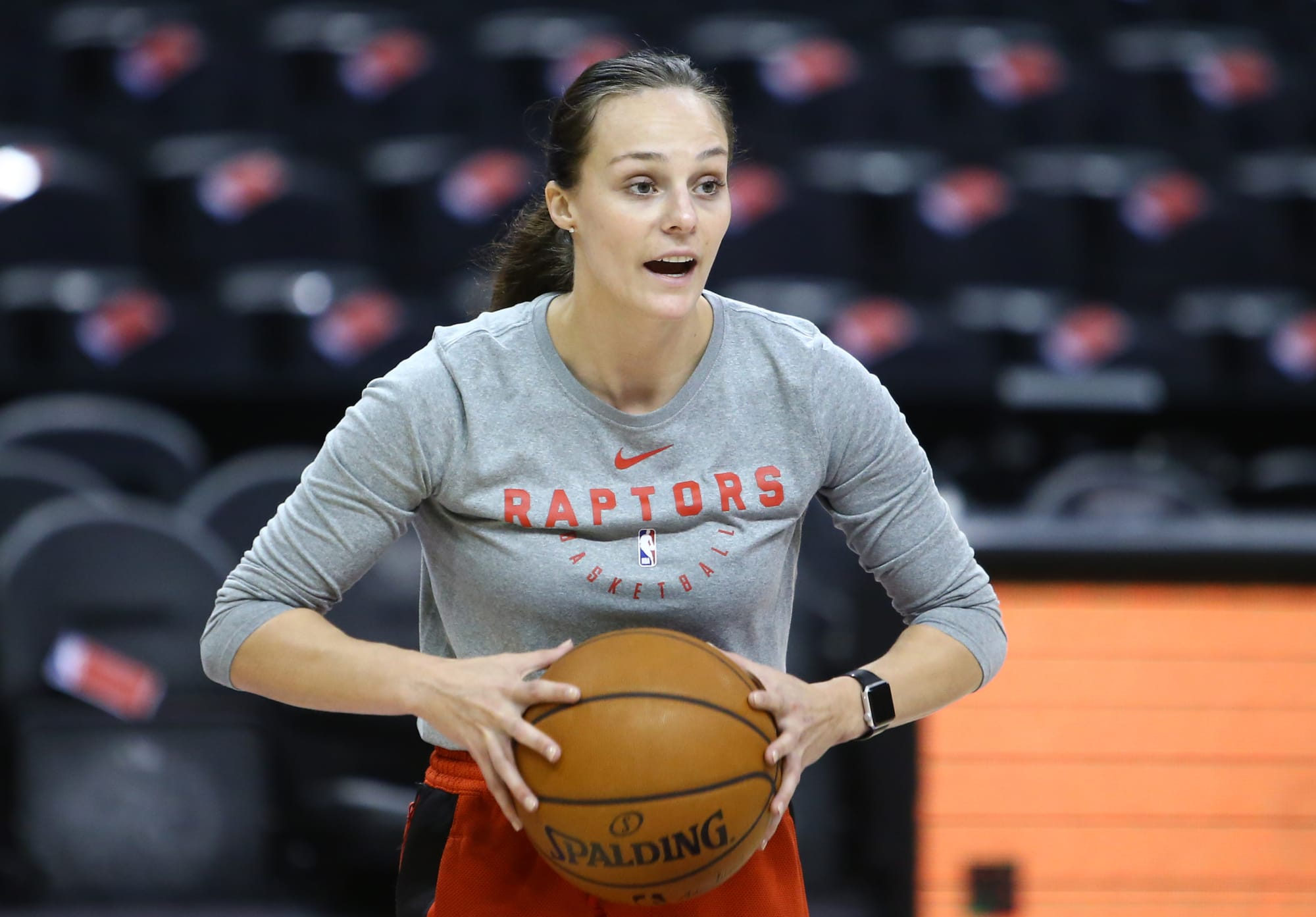 The Toronto Raptors need a woman on the bench next season