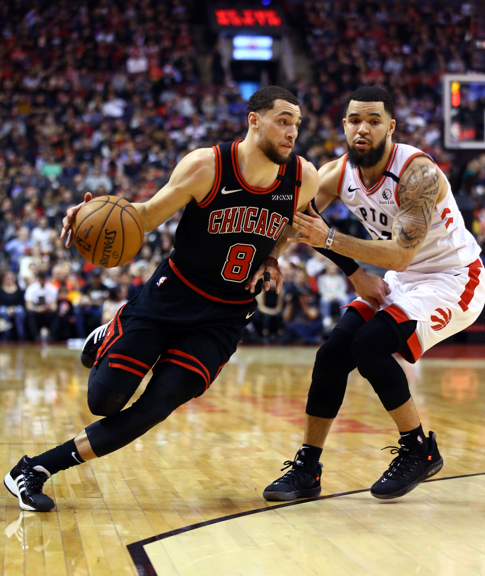 The Toronto Raptors match up well against the struggling Chicago Bulls