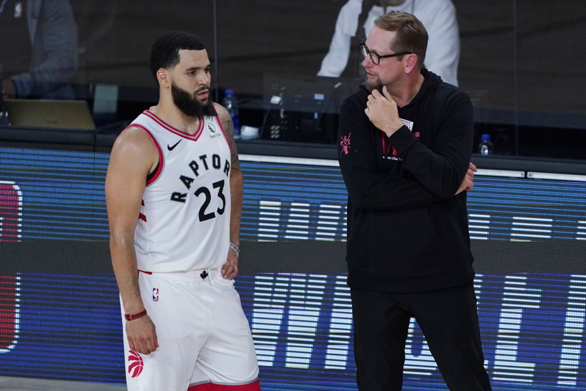 The media continues to disrespect the Toronto Raptors