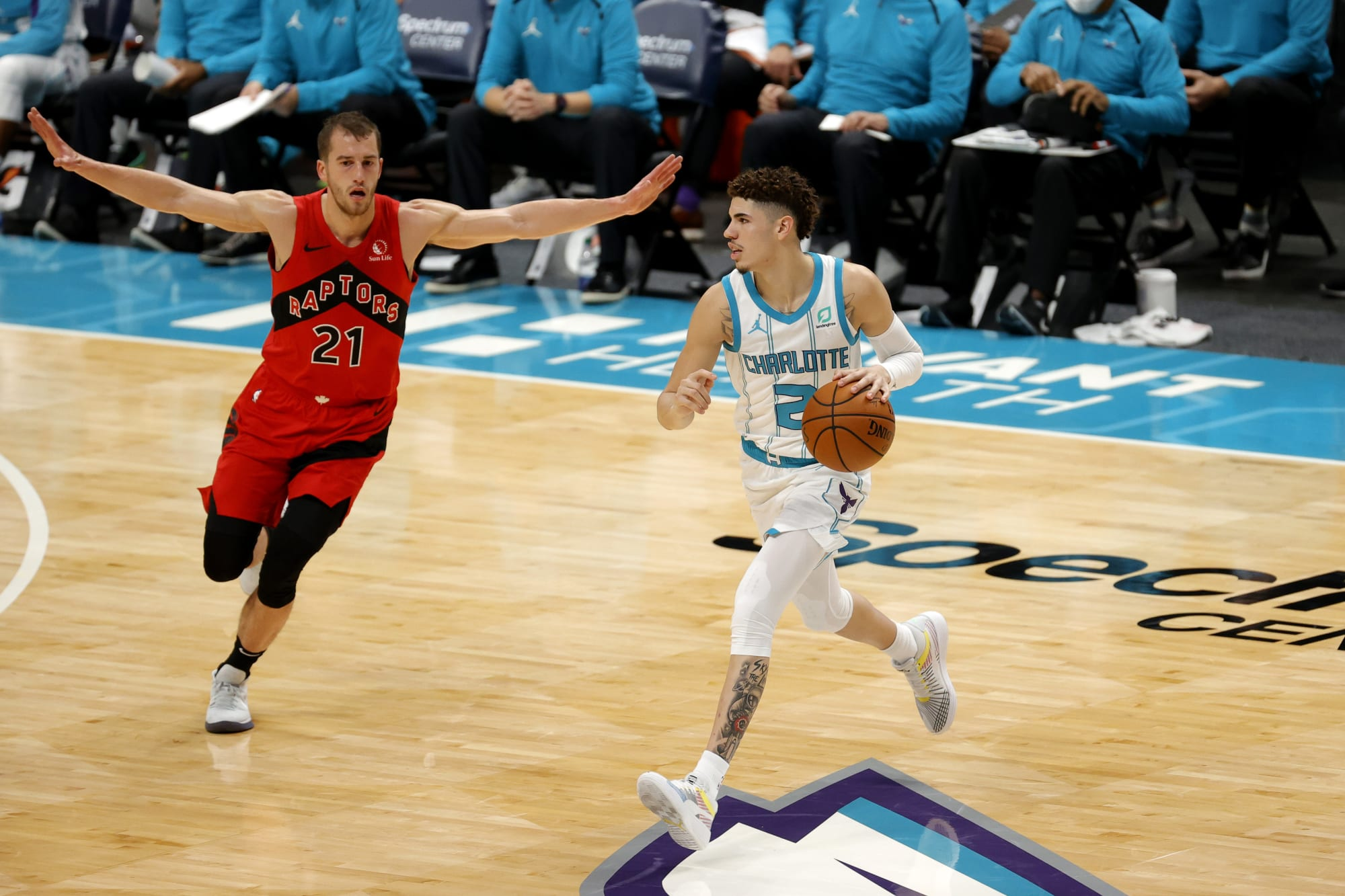 Toronto Raptors: Matt Thomas proving his worth with the Raptors