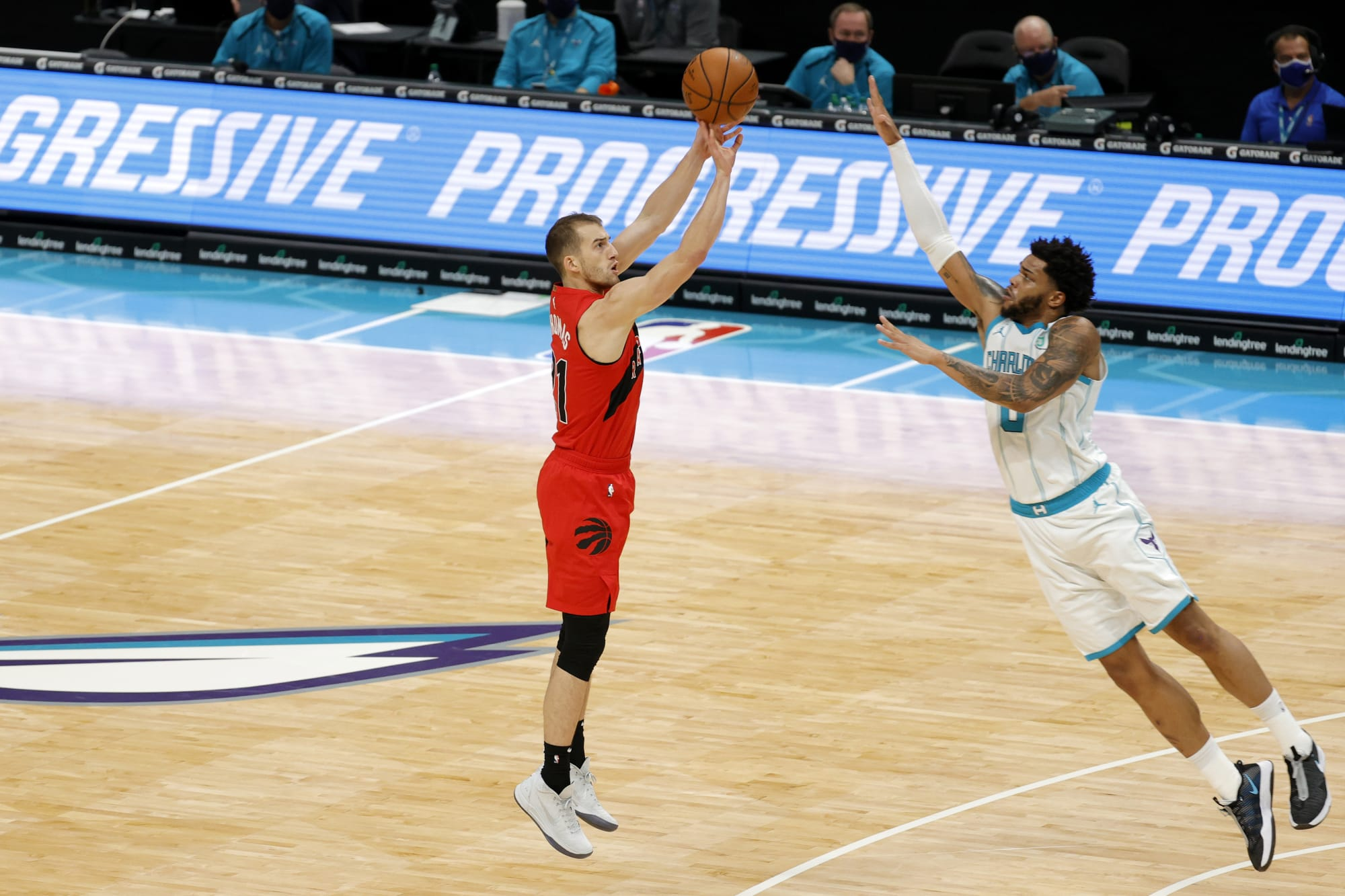 Raptors: Why in the world is Matt Thomas not getting minutes?