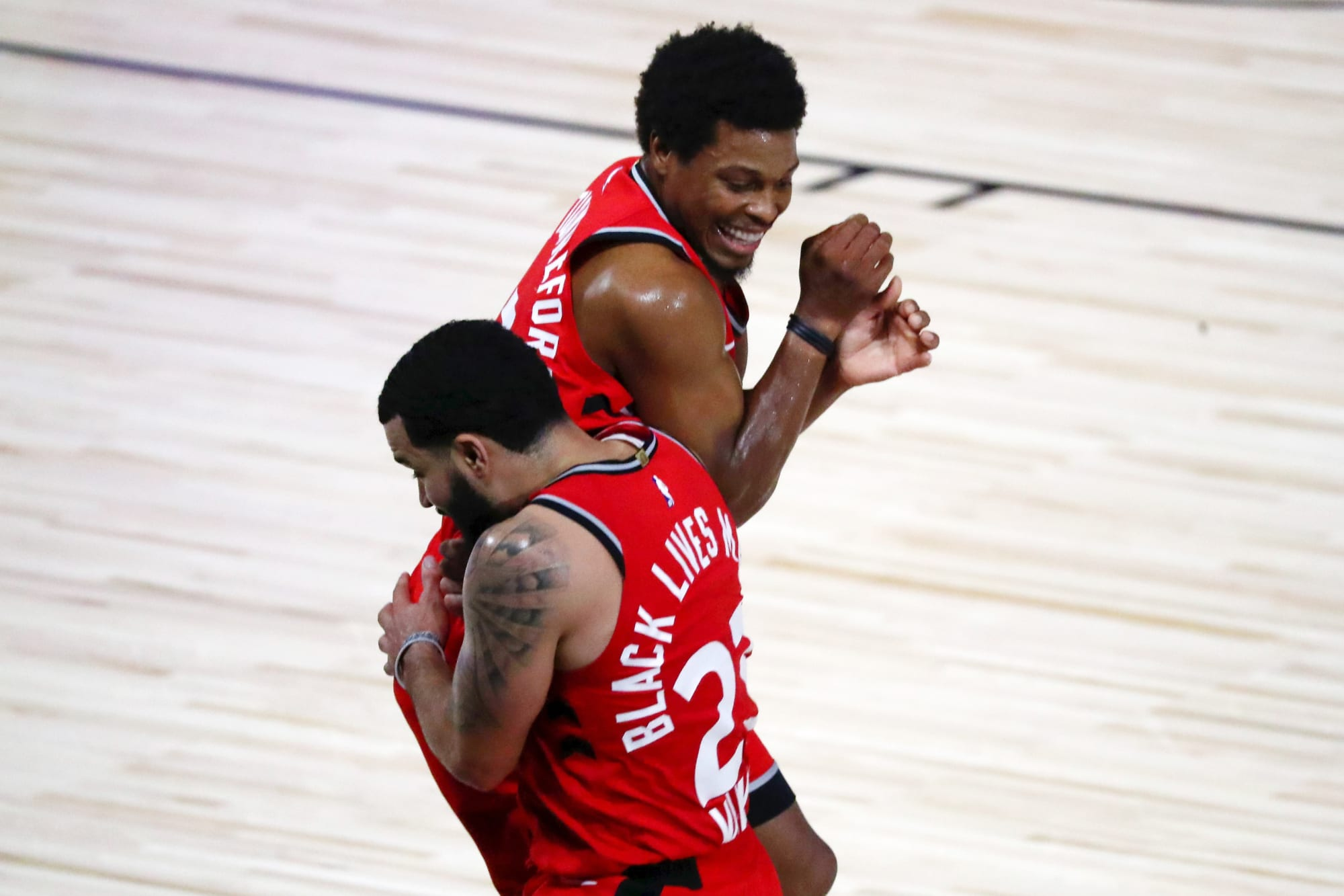 Raptors: Kyle Lowry and DeMar DeRozan salute Fred VanVleet after 54-point night