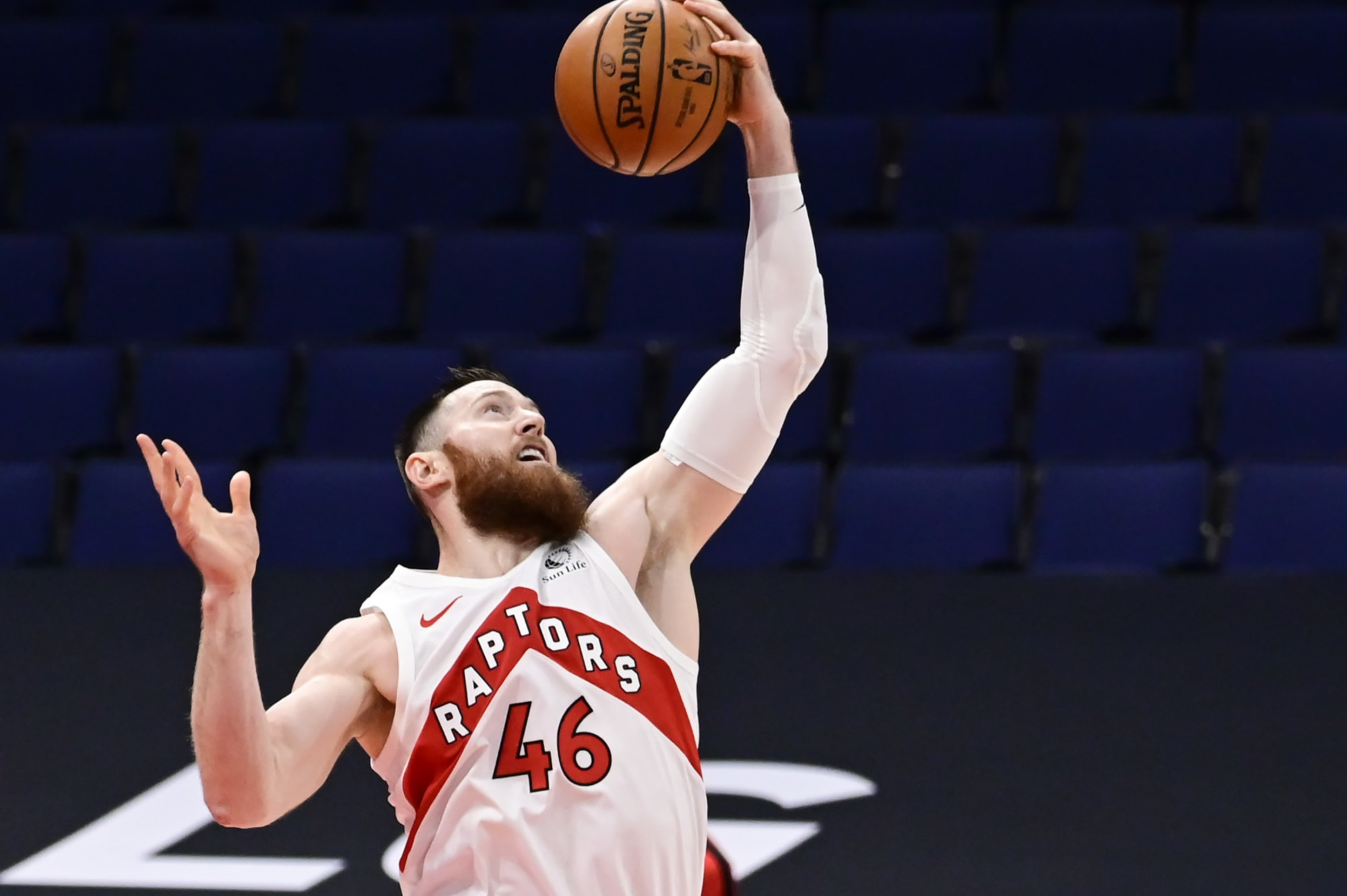Raptors: Is there any hope left for Aron Baynes in Toronto?