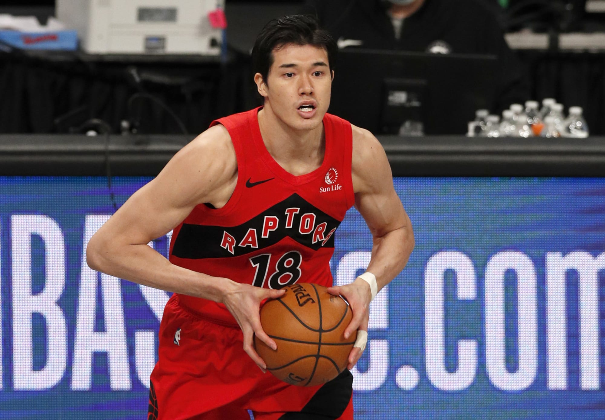 Raptors: Does Yuta Watanabe have an inside track on a roster spot?