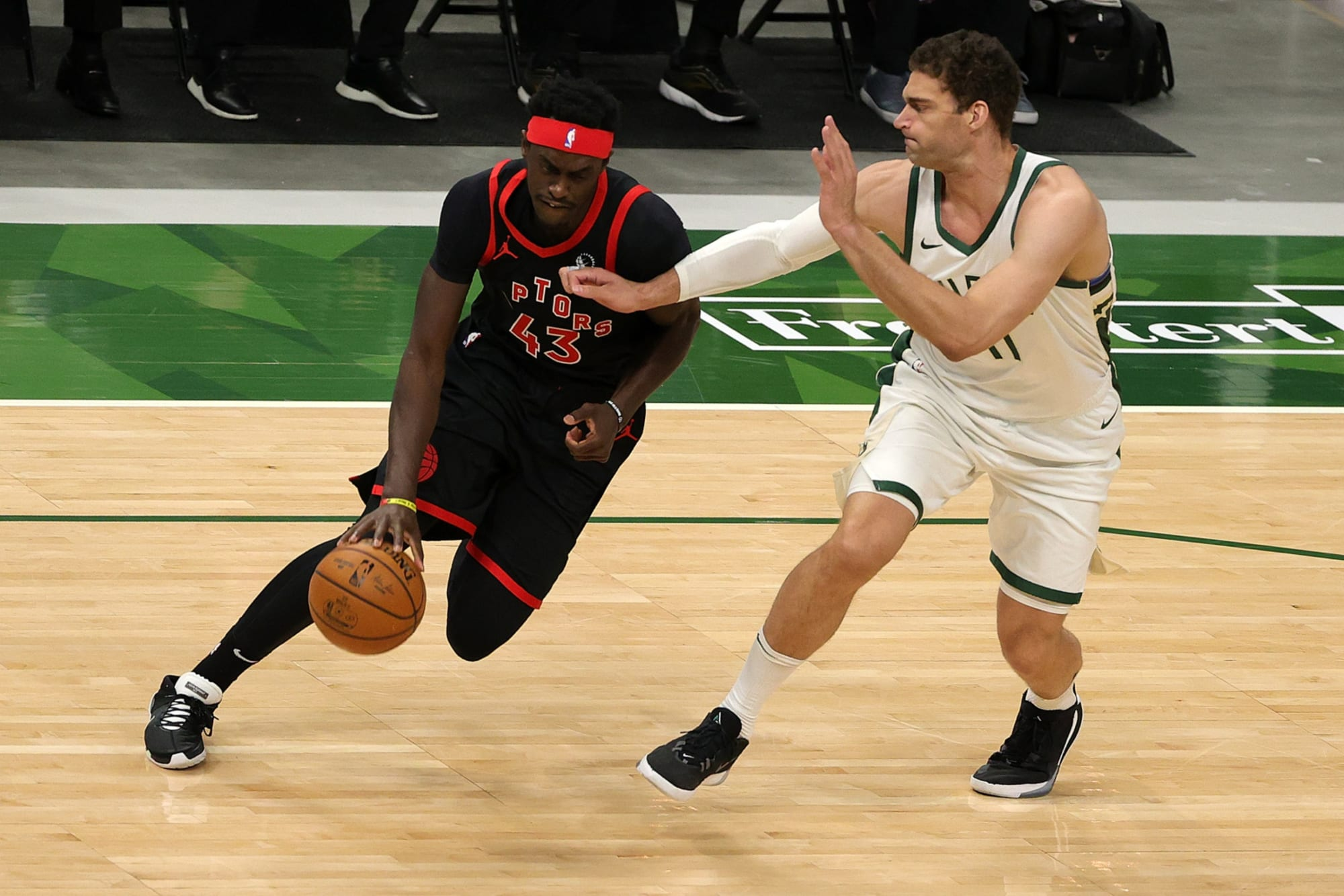 Raptors: Kendrick Perkins talks up Pascal Siakam over Giannis Antetokounmpo