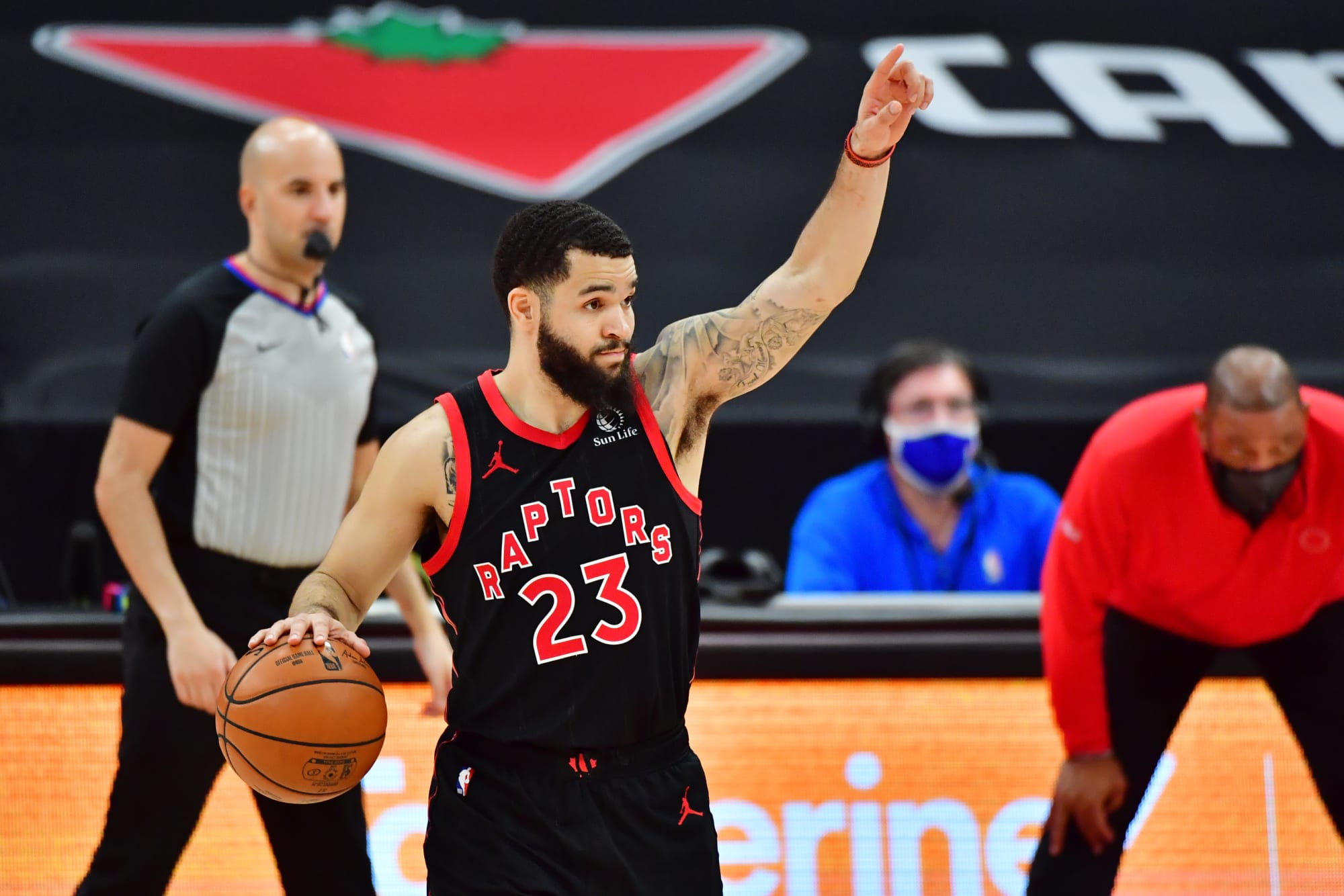 Toronto Raptors: Fred VanVleet discusses COVID-19 recovery, rips replacements