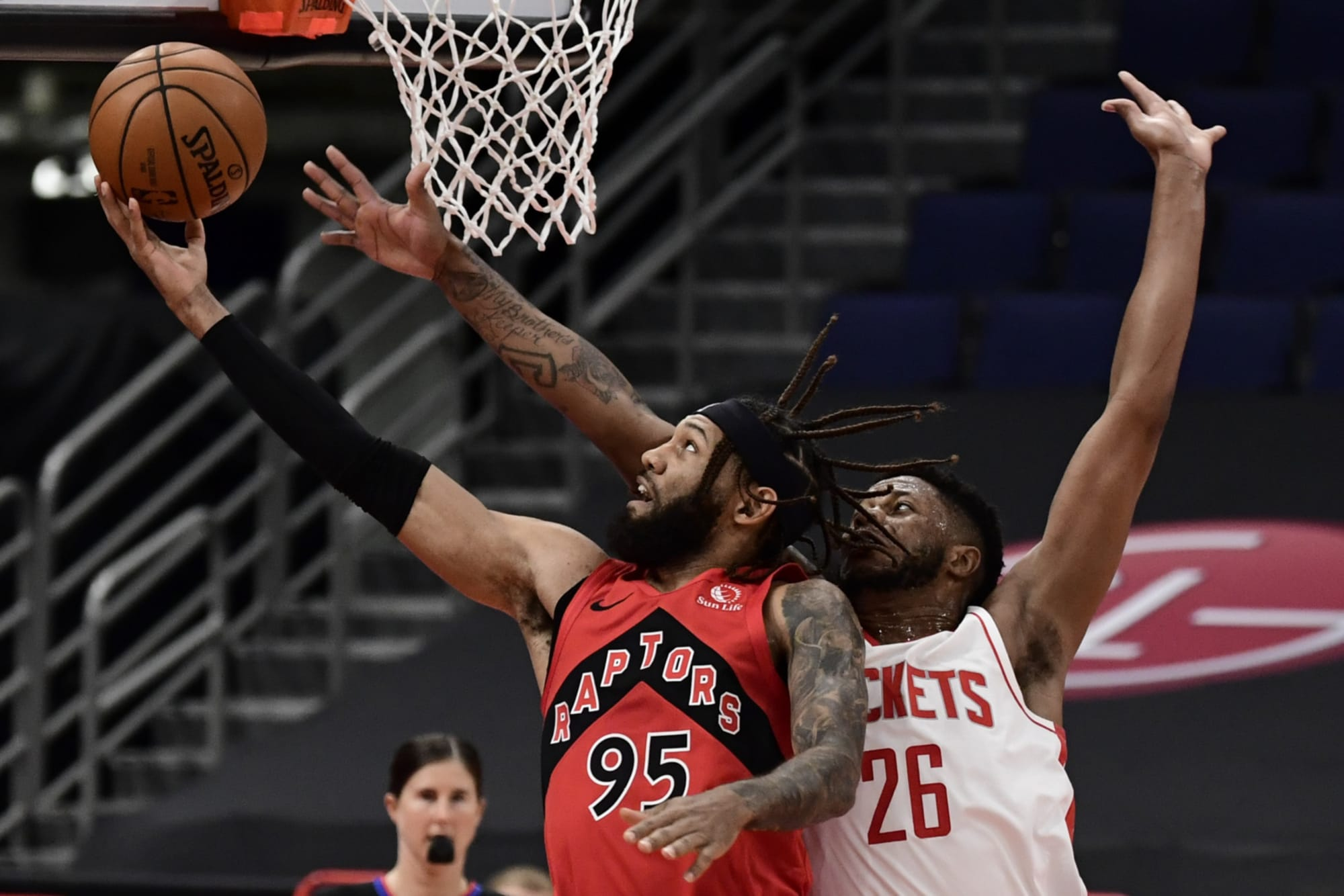 Raptors defeat uneven Rockets without Nick Nurse or Pascal Siakam