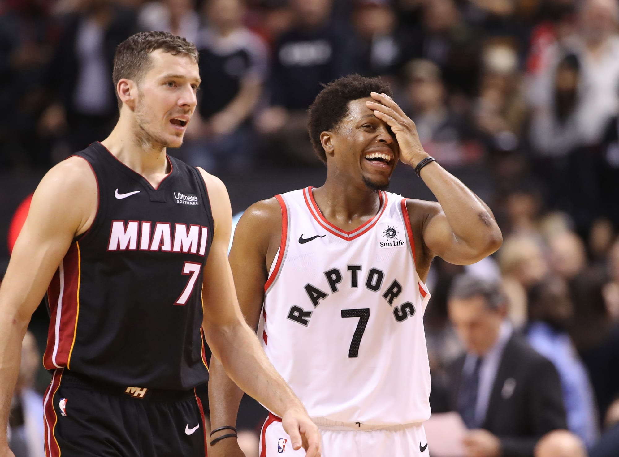 Toronto Raptors: Heat have offered Kendrick Nunn and Goran Dragic in Kyle Lowry trade