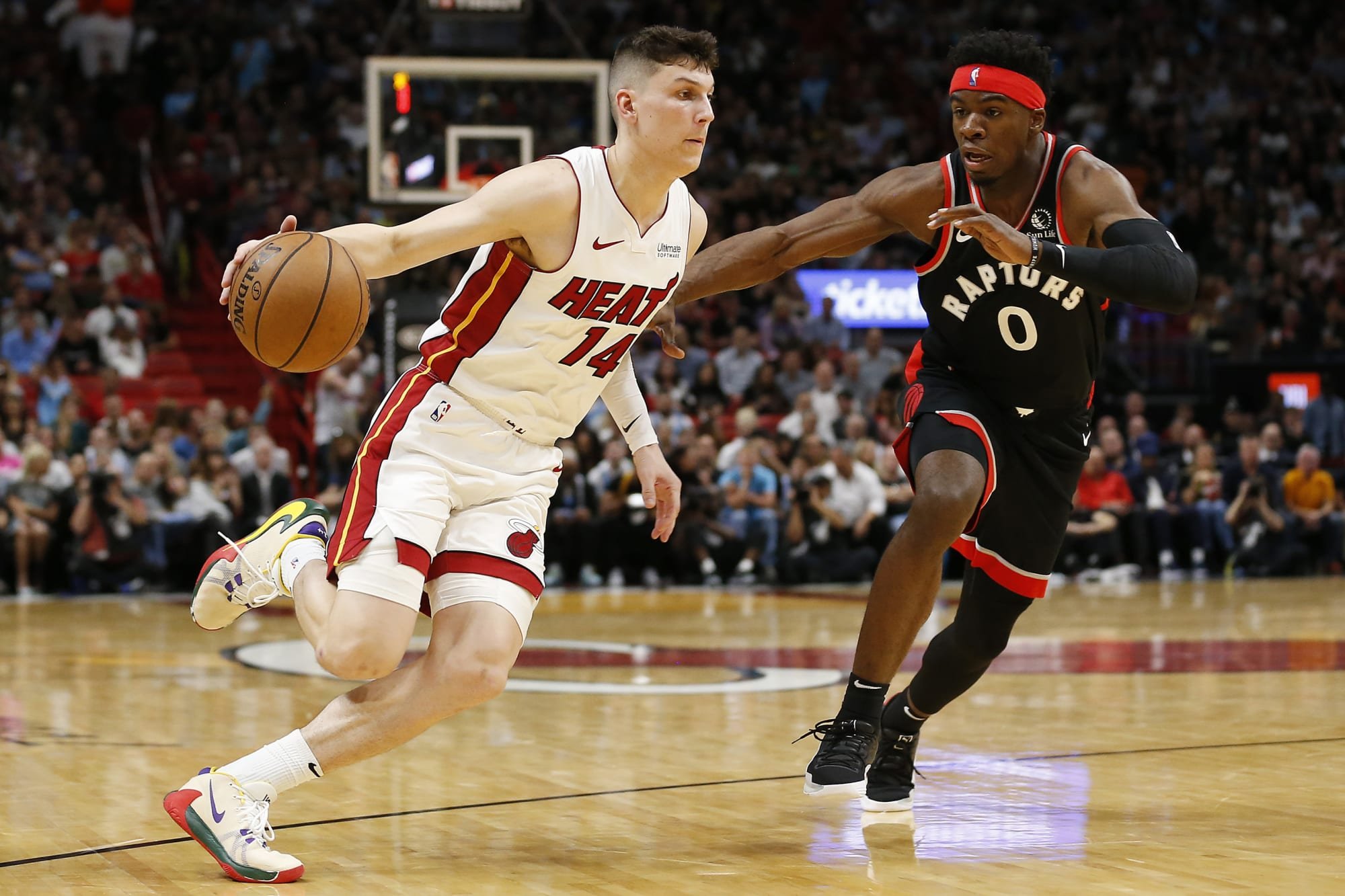 Toronto Raptors rumors: Toronto demanding Tyler Herro or Duncan Robinson from Heat in Kyle Lowry deal