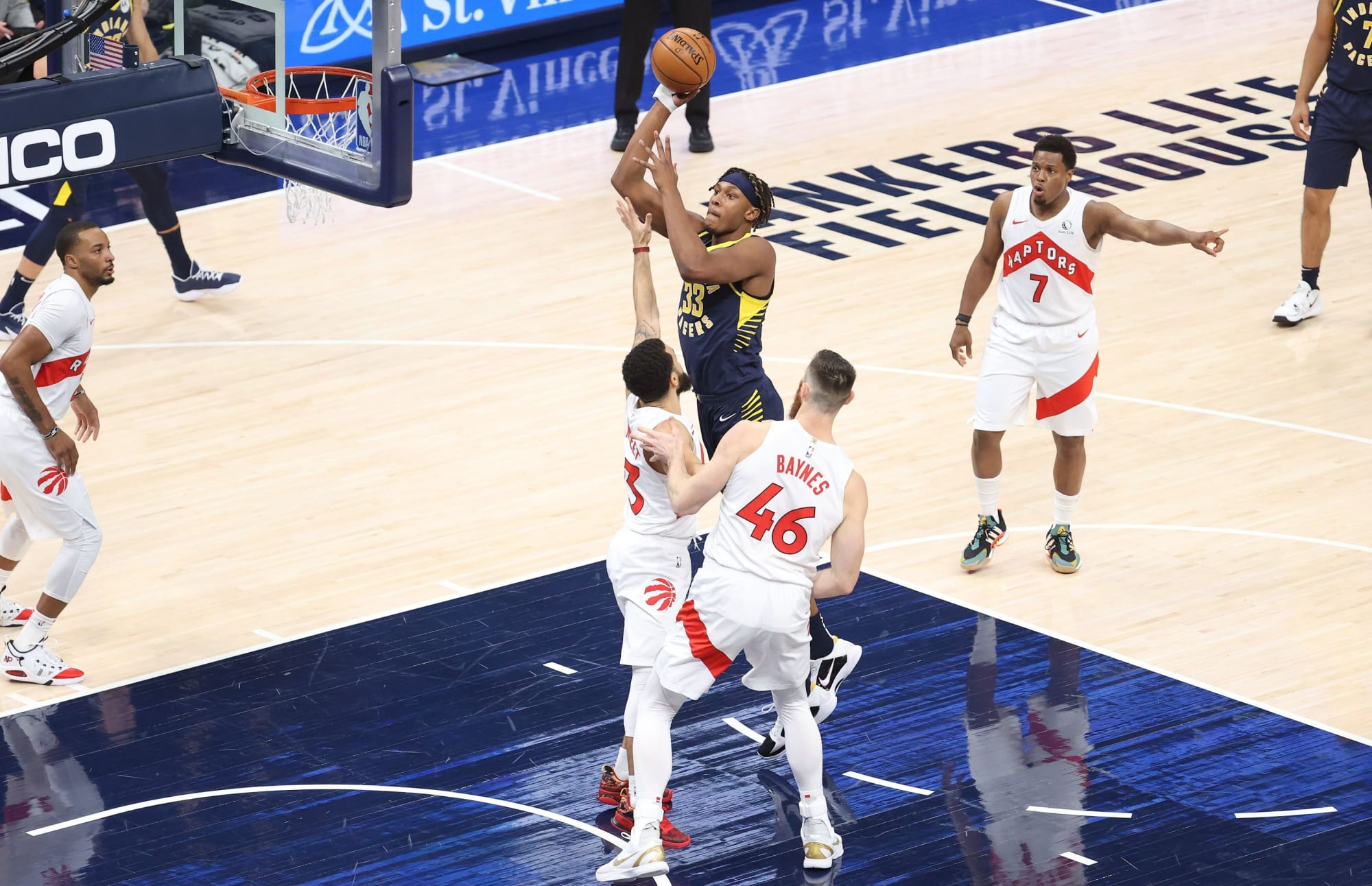 Why the Myles Turner injury could push the Toronto Raptors to the playoffs