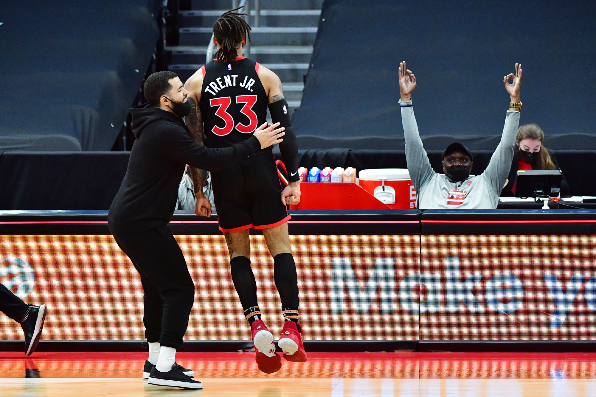 Toronto Raptors: Fred VanVleet proved to be an amazing leader for Nick Nurse on the bench