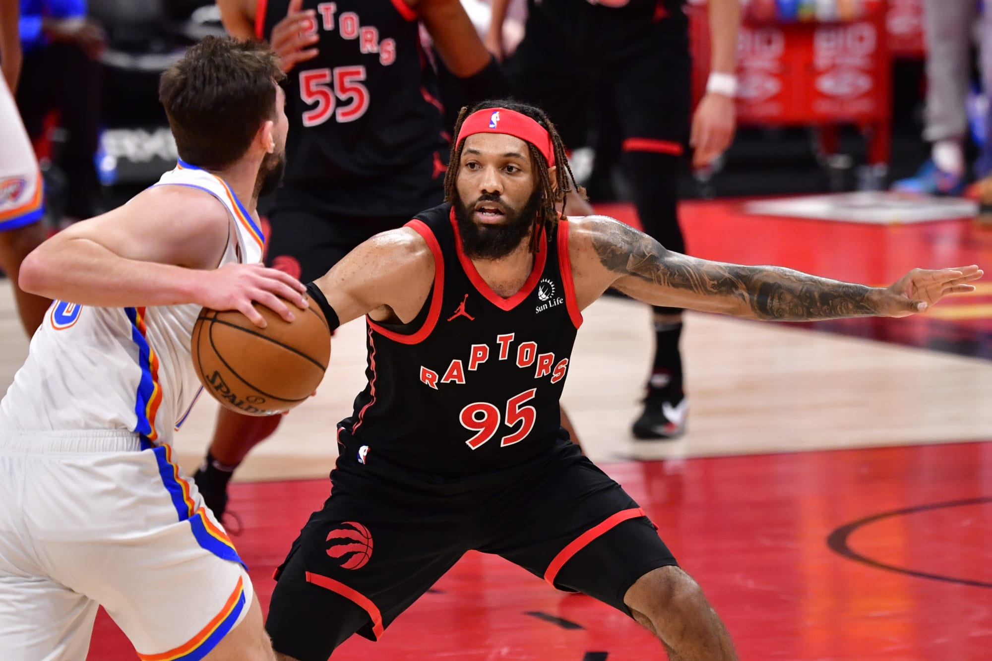 DeAndre' Bembry has earned a second season with the Toronto Raptors