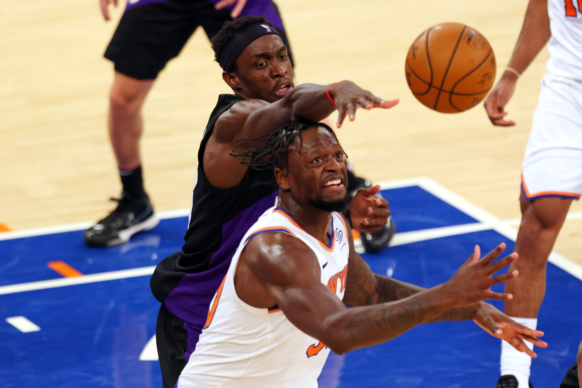 Raptors: Julius Randle's playoff stats are worse than Pascal Siakam's bubble numbers