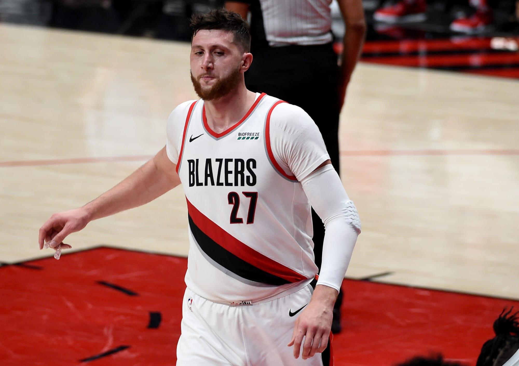 Toronto Raptors: Could Jusuf Nurkic be a target after comments following elimination?