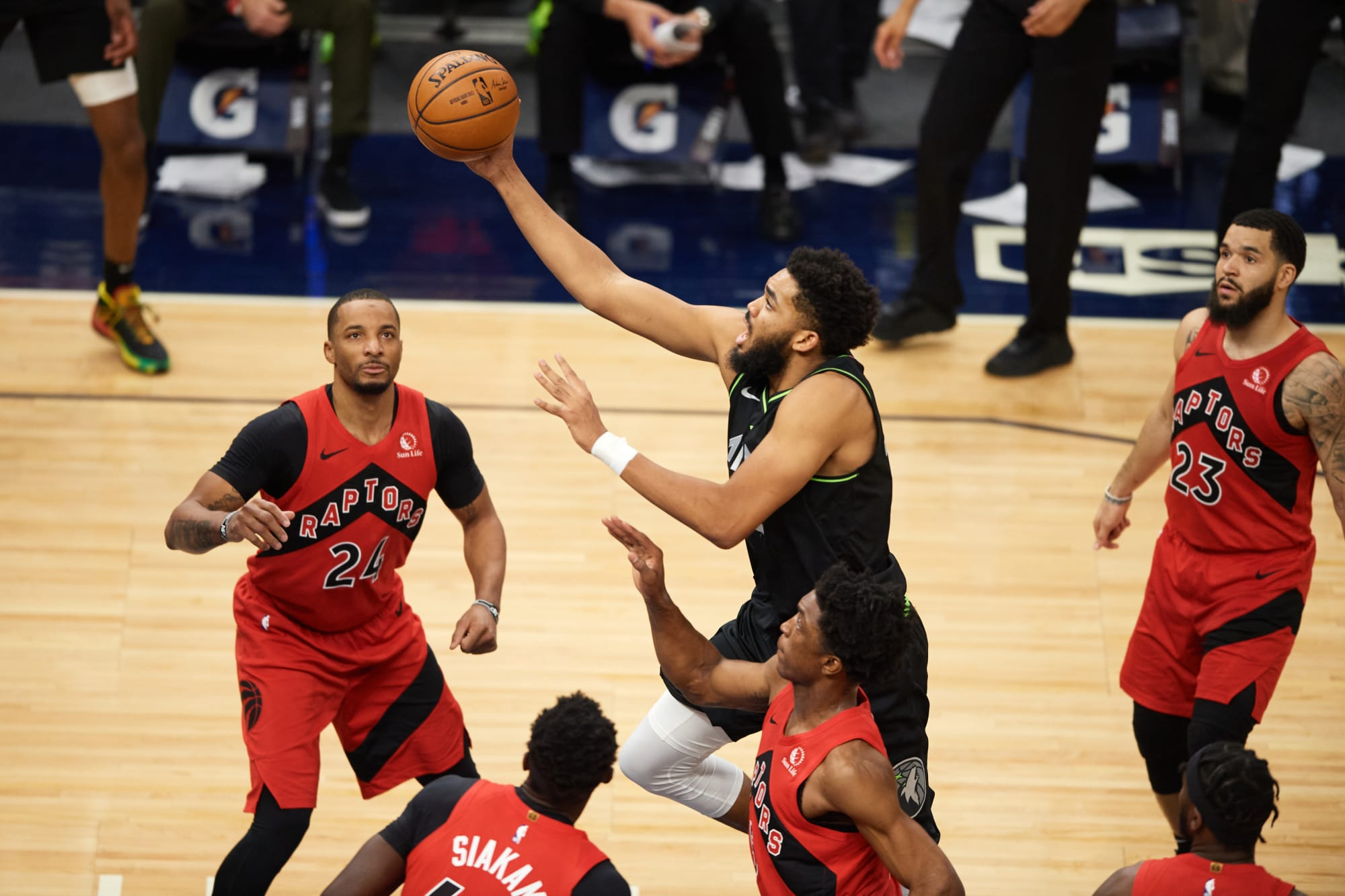 Could the Toronto Raptors potentially trade for Karl-Anthony Towns?