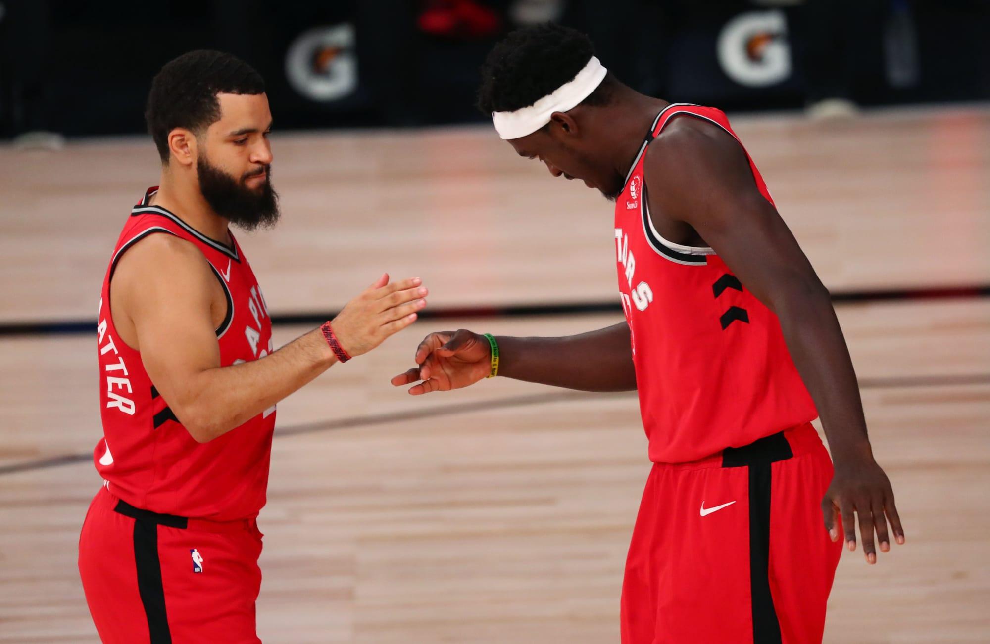 Toronto Raptors: Kawhi Leonard praises Fred VanVleet and Pascal Siakam