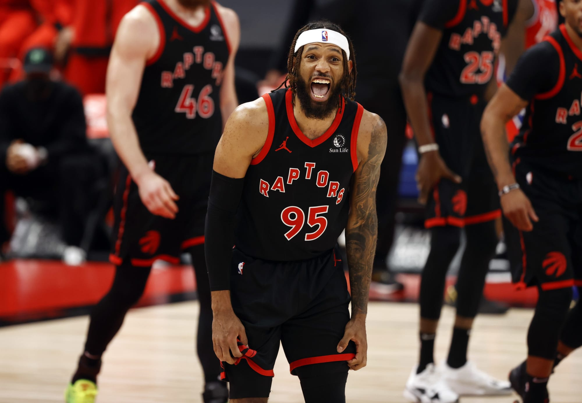 Raptor of the Week:  DeAndre' Bembry