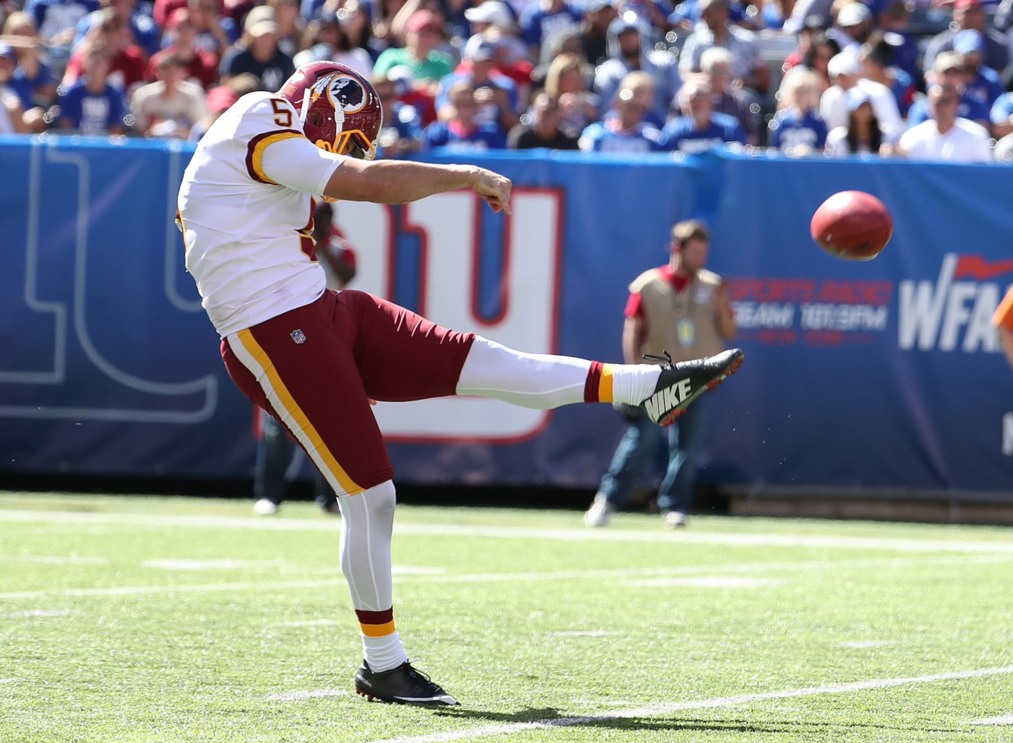 Redskins: Tress Way named NFC's Special Teams Player of the Week
