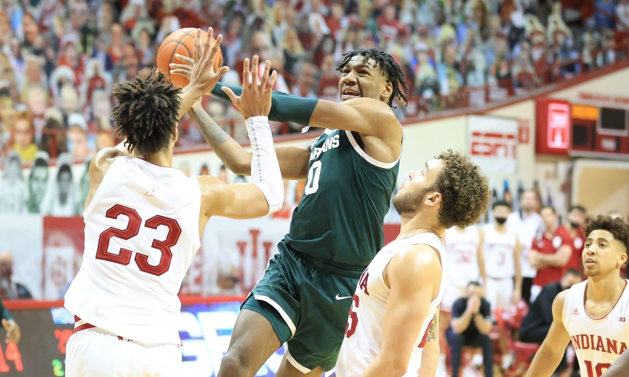 Jack Hoiberg Michigan State Spartans Basketball Jersey - Green