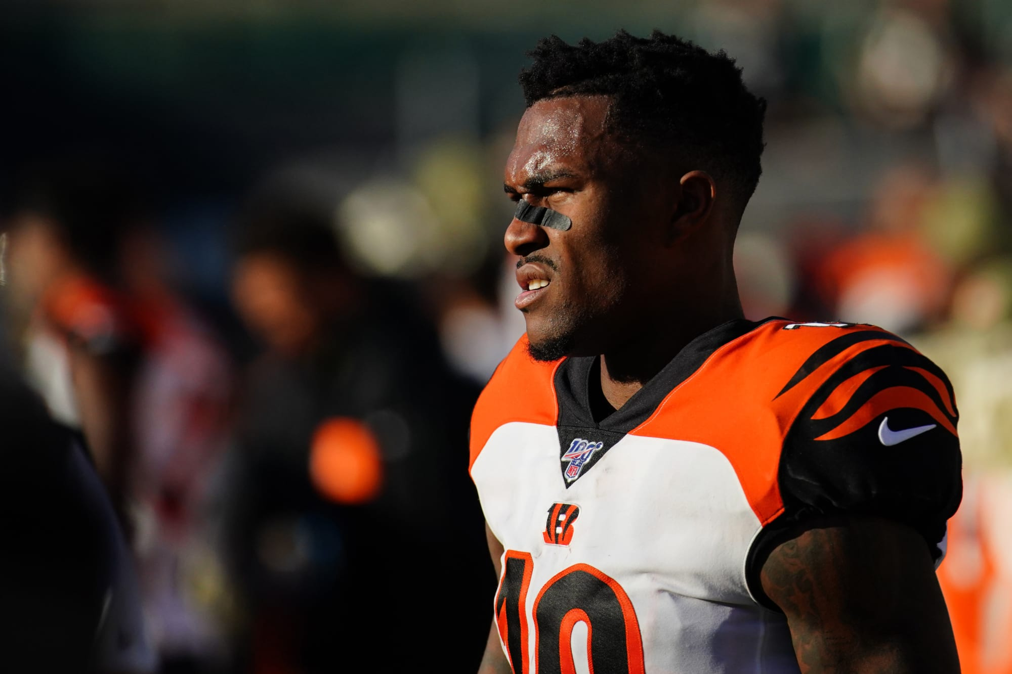 Bengals News: Auden Tate could reportedly request a trade ...