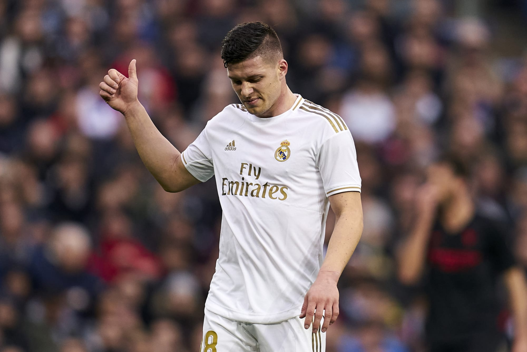 Real Madrid Outcast Luka Jovic Returns To Eintracht Frankfurt On Loan