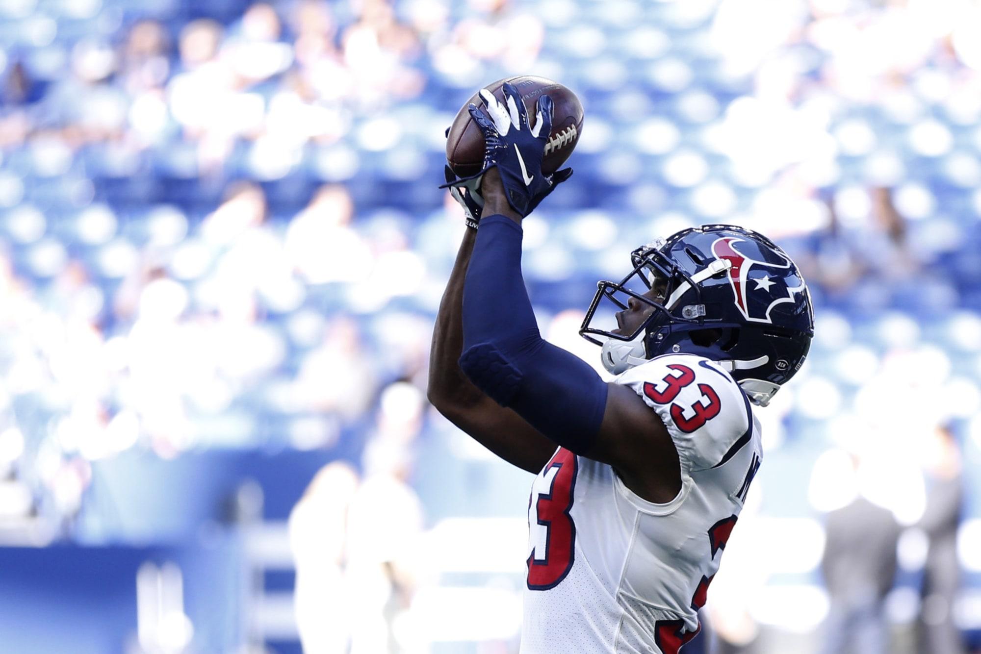 Houston Texans: A.J. Moore Jr. has improved for 2020 season