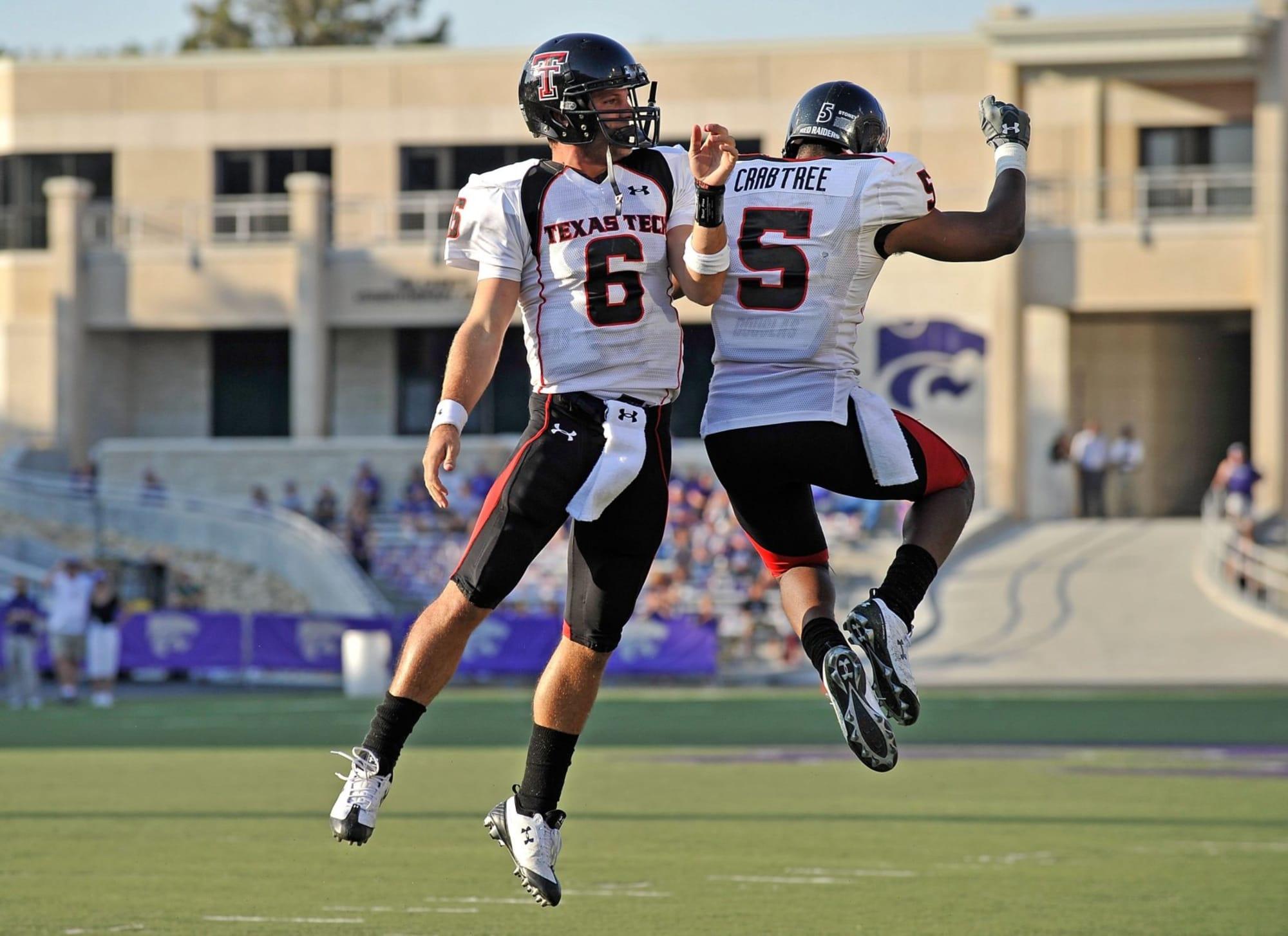 Texas Tech football: Harrell; Crabtree selected to Texas Tech Hall ...