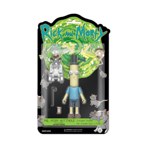 ACTION FIGURE: RICK & MORTY - MR. POOPY BUTTHOLE