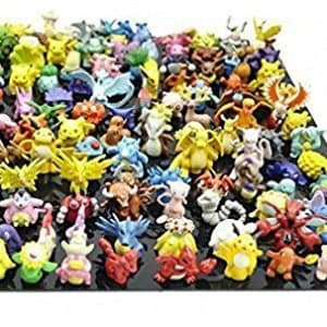 POKEMON Complete Set Pokemon Action Figures (144 Pieces)
