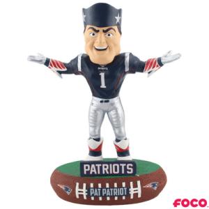 New England Patriots Pat Patriot Mascot Bobblehead
