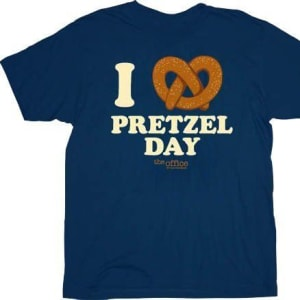 The Office - I Love Pretzel Day T-Shirt