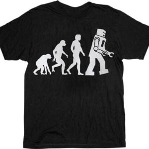 Theory of Evolution Robot Evolution T-shirt